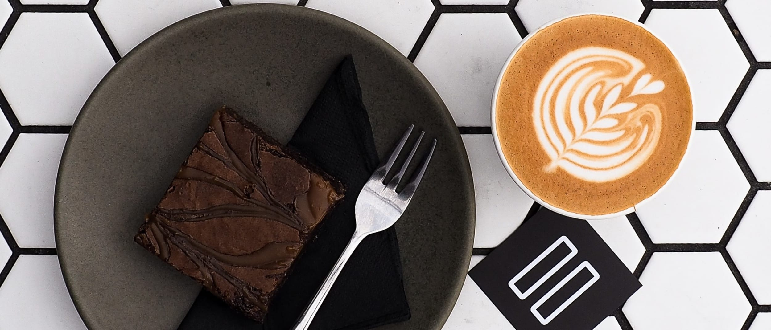 Foster & Black: coffee and brownie deal
