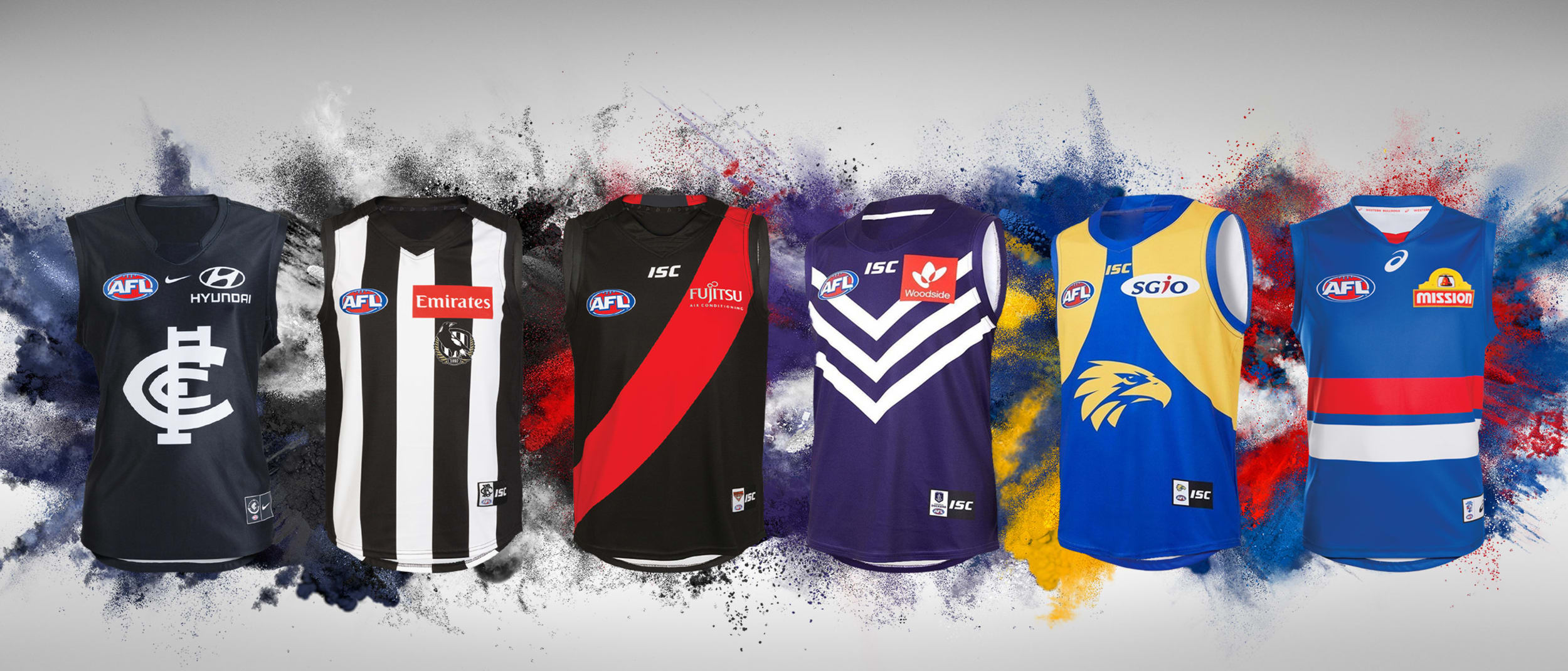 Get game ready at The AFL Store