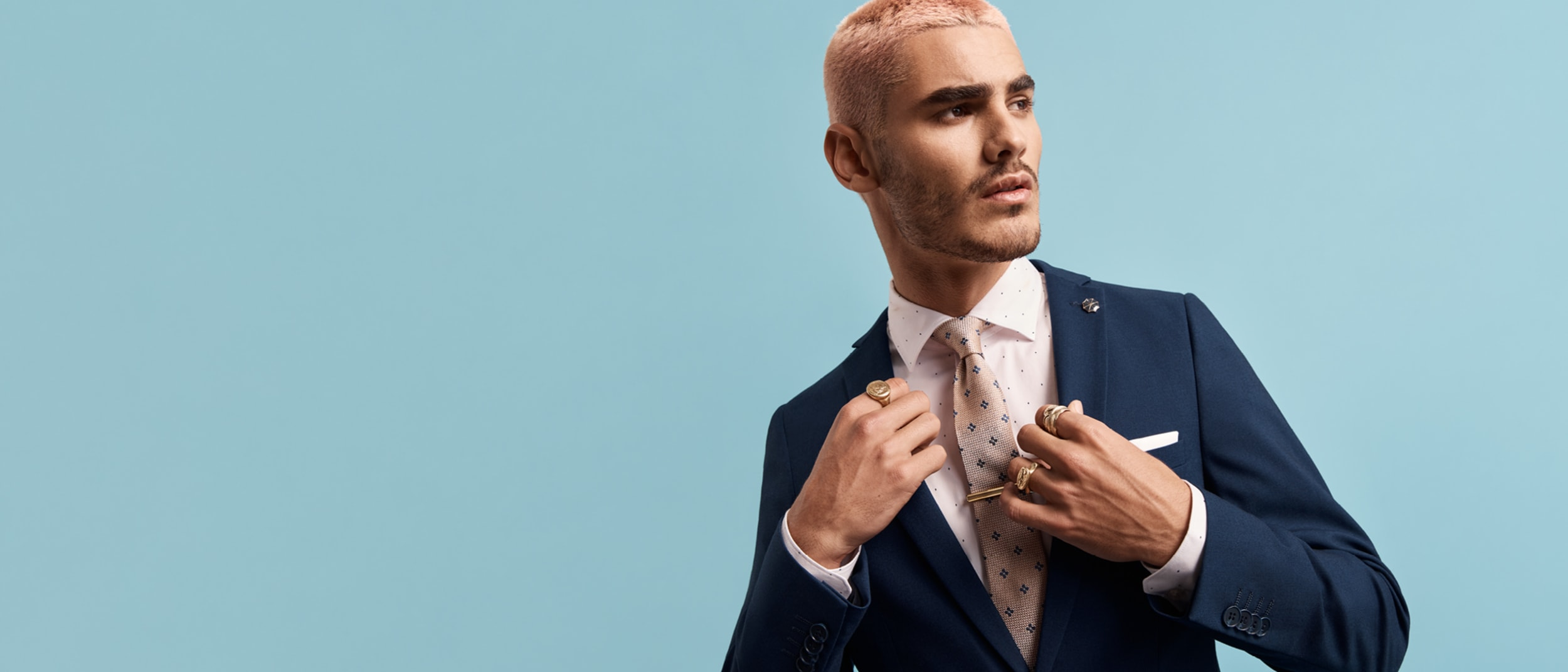yd. 25% off all suits - save $75