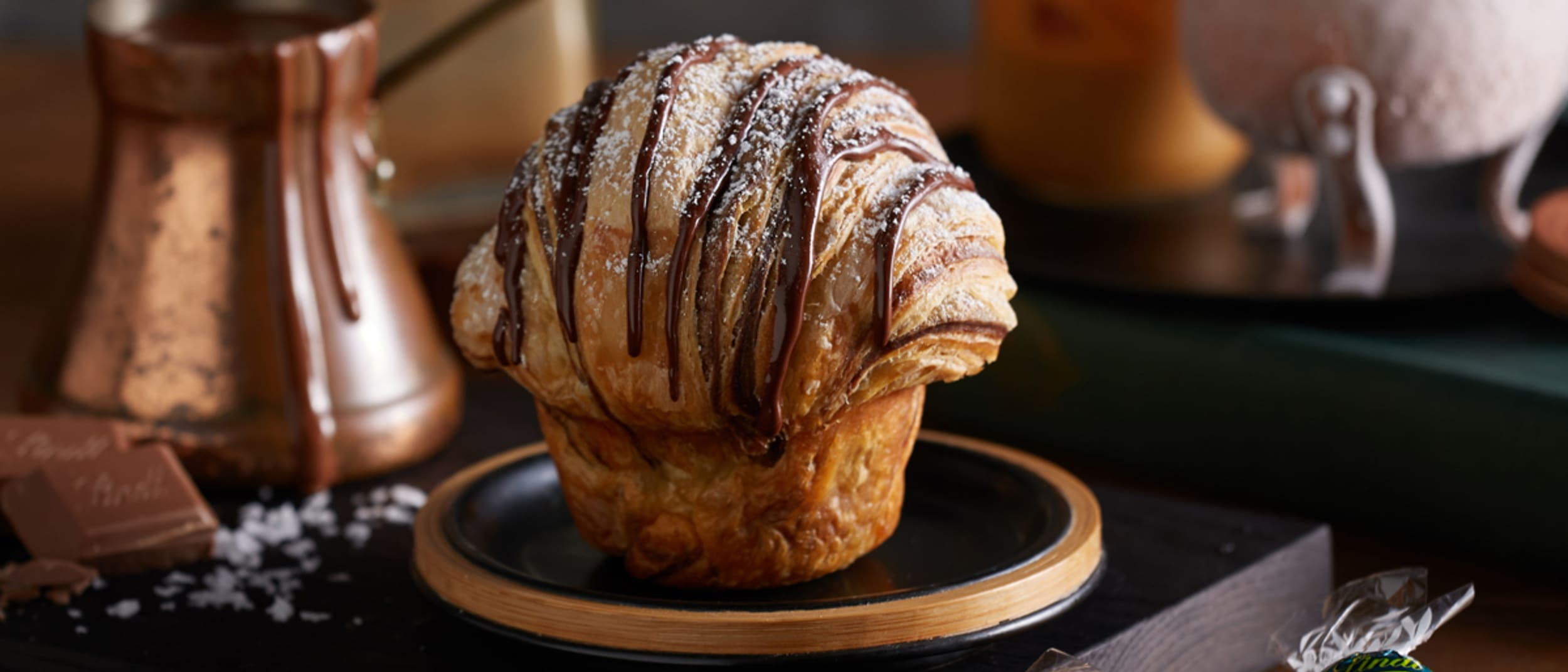 Muffin Break: introducing the duffin, made with Lindt