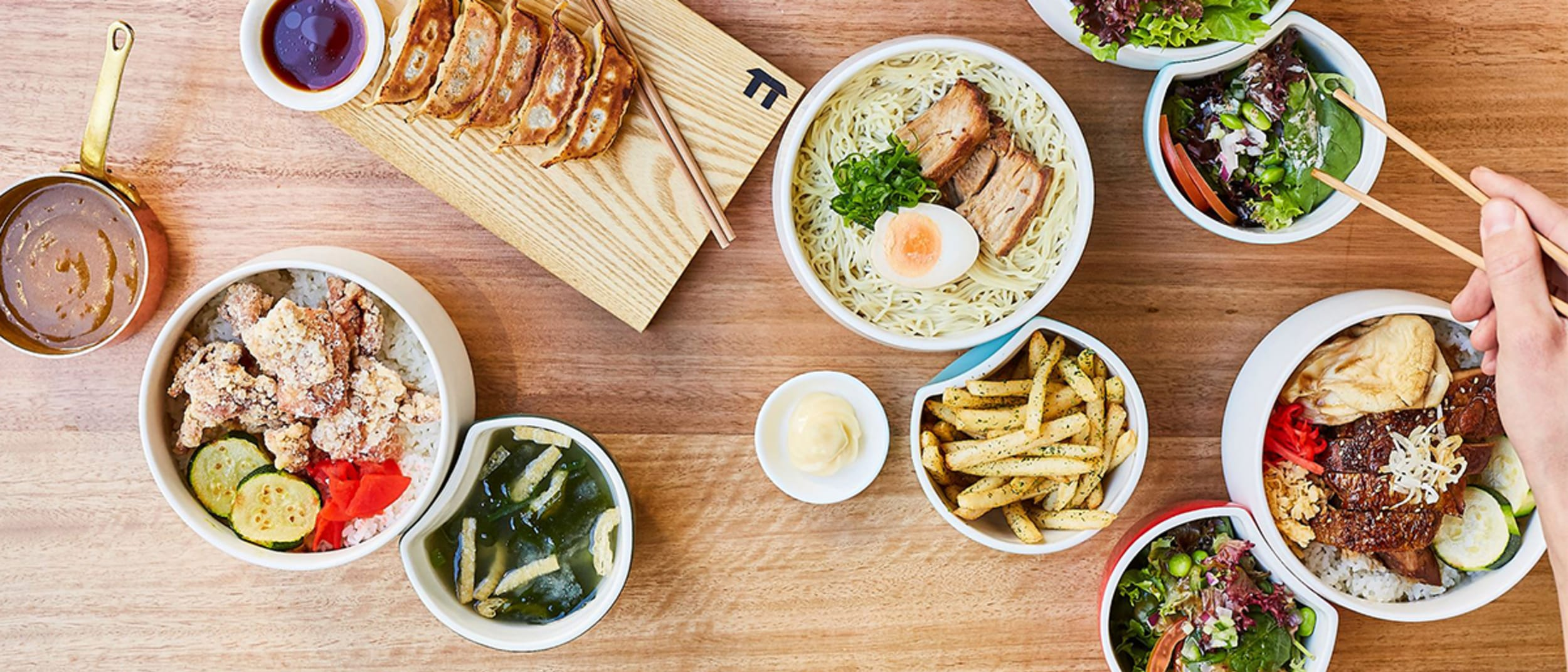 All the restaurants at Westfield Chermside offering food delivery
