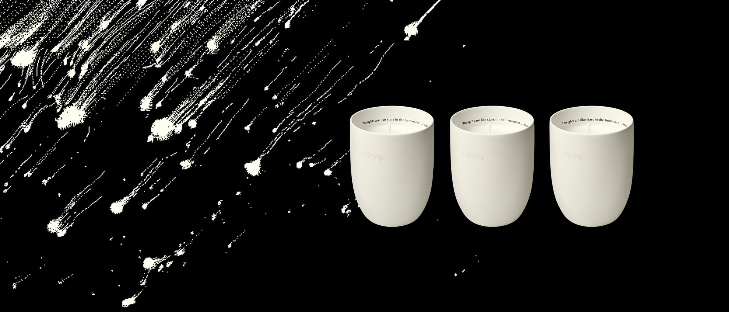 Aesop: Introducing a trio of fragrant candles