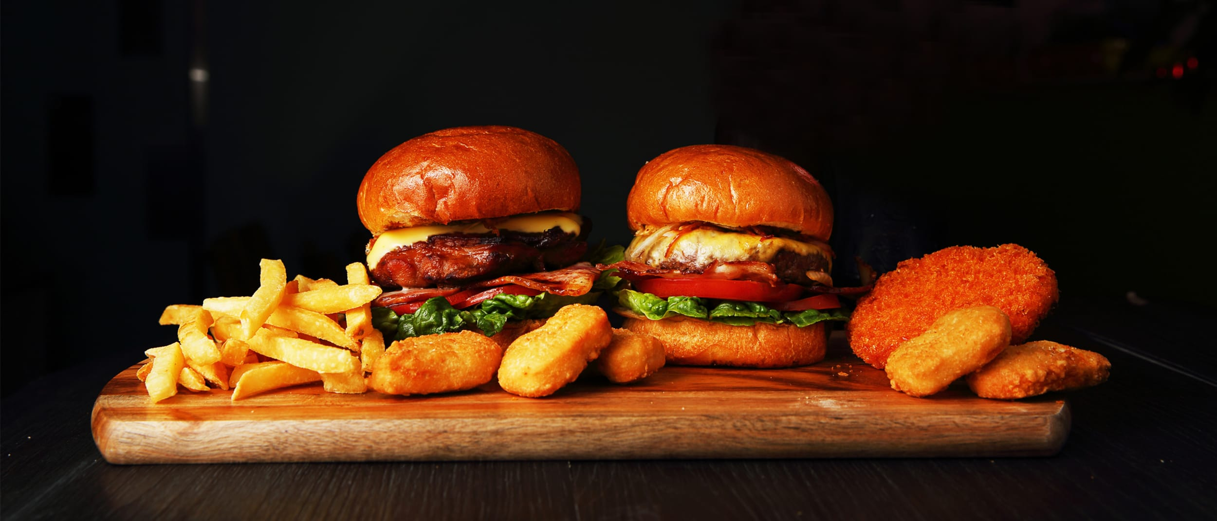 Kingpin- come enjoy a burger every Tuesday for only $13