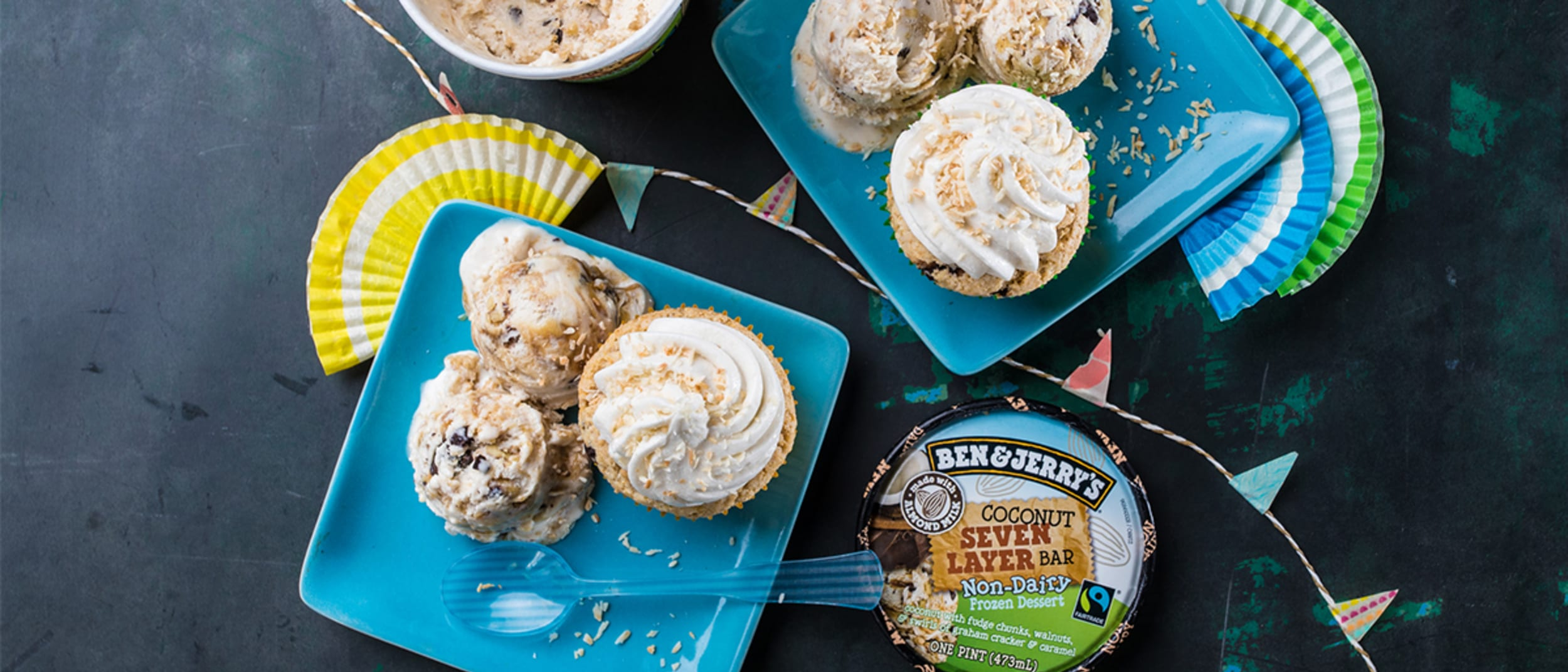 Ben & Jerry's new non-dairy dessert delights for ice cream
