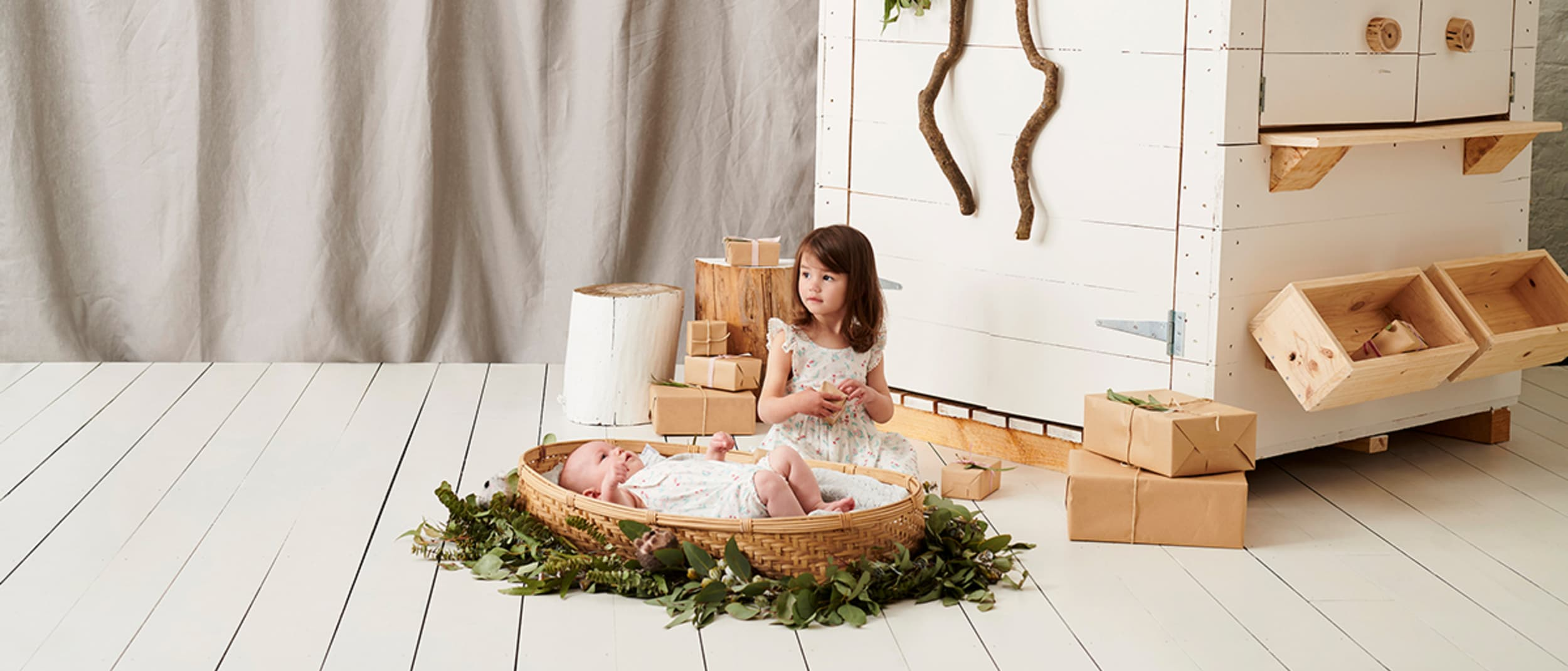 Home for Christmas at Purebaby