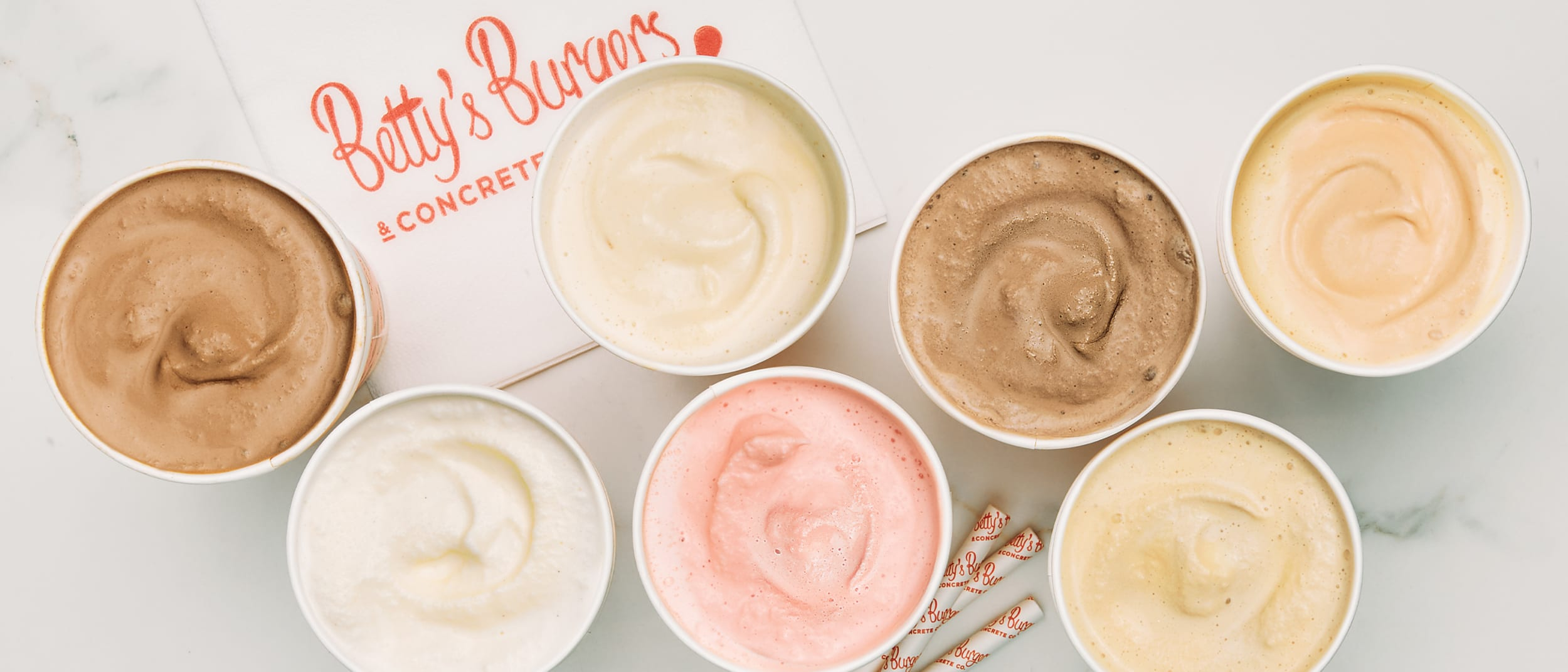 Betty's Burgers: Try the exclusive cookie butter thick shake