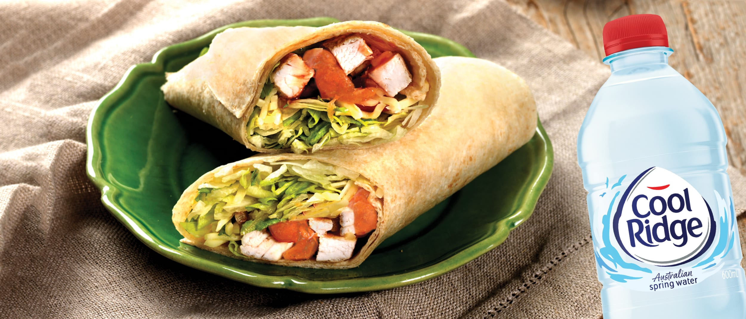 Le Wrap: peri peri chicken wrap and drink for just $11.90