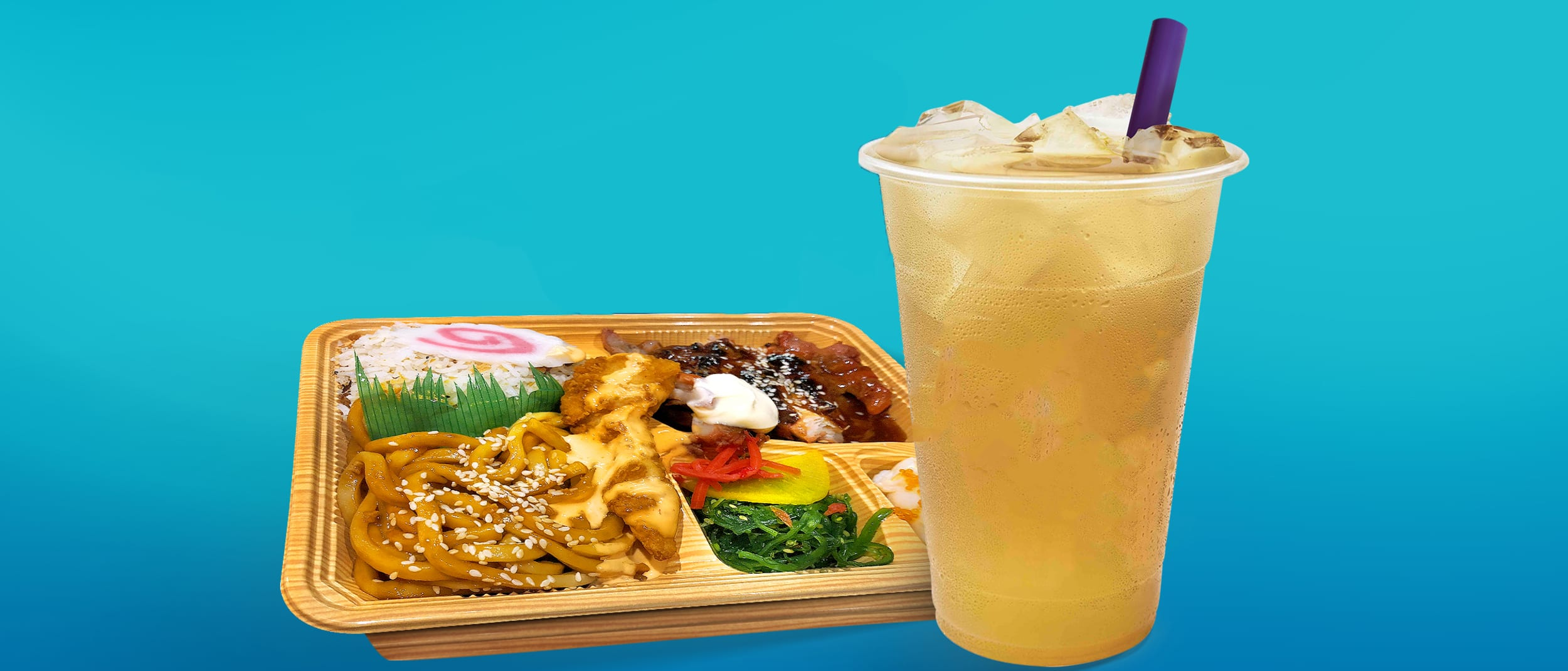 Free Chatime with Bento Box from Noodling
