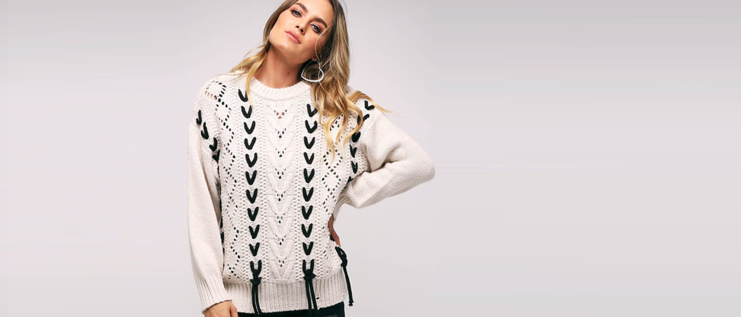 Ally Fashion: 30% off knitwear