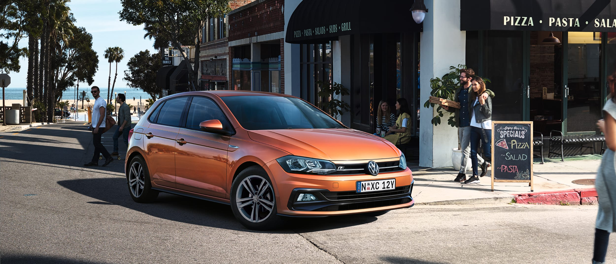 The new Volkswagen Polo.  More Polo. Less Drama.