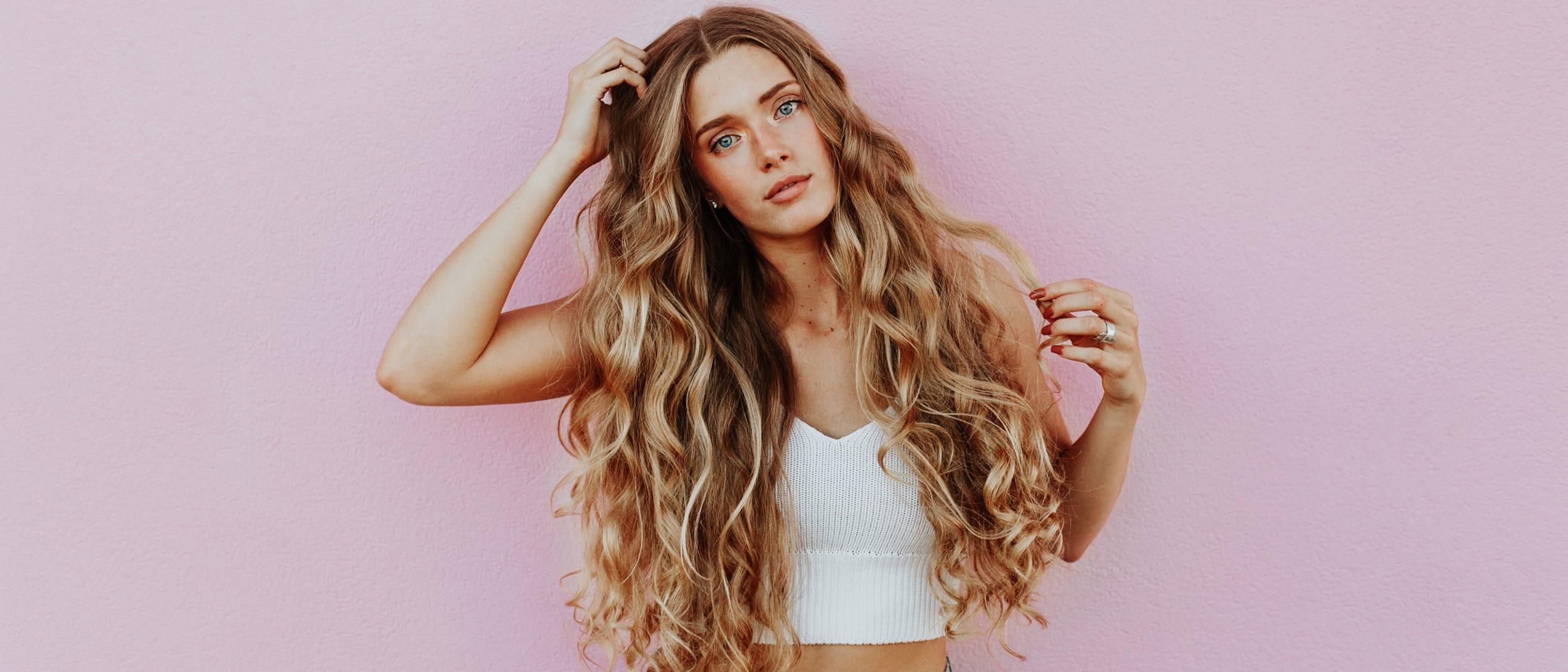 Just Cuts: Mermaid waves hair tutorial
