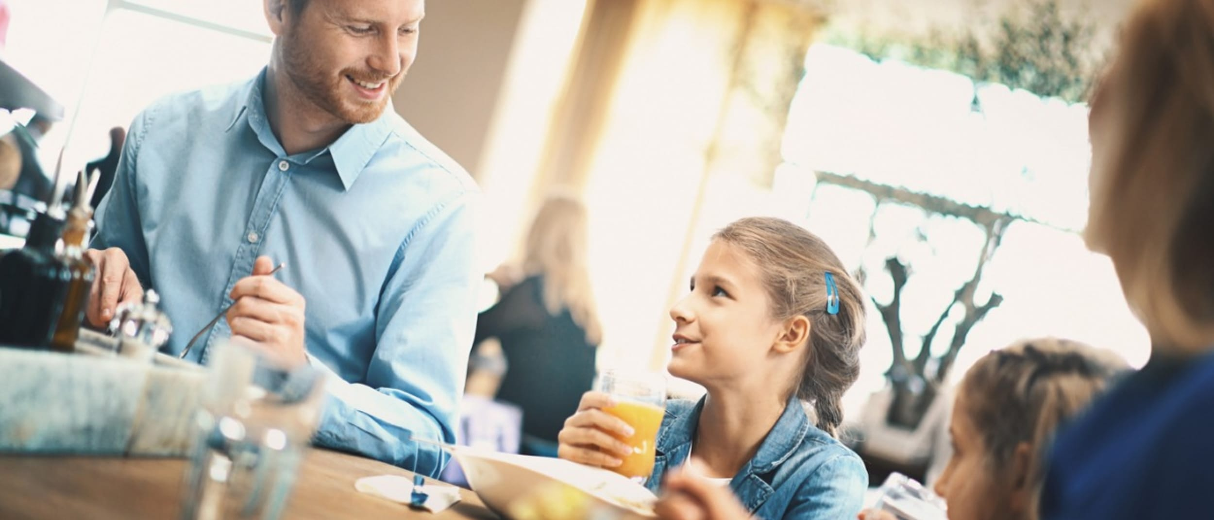 The Bavarian: Kids eat free every day from 11am to 4pm