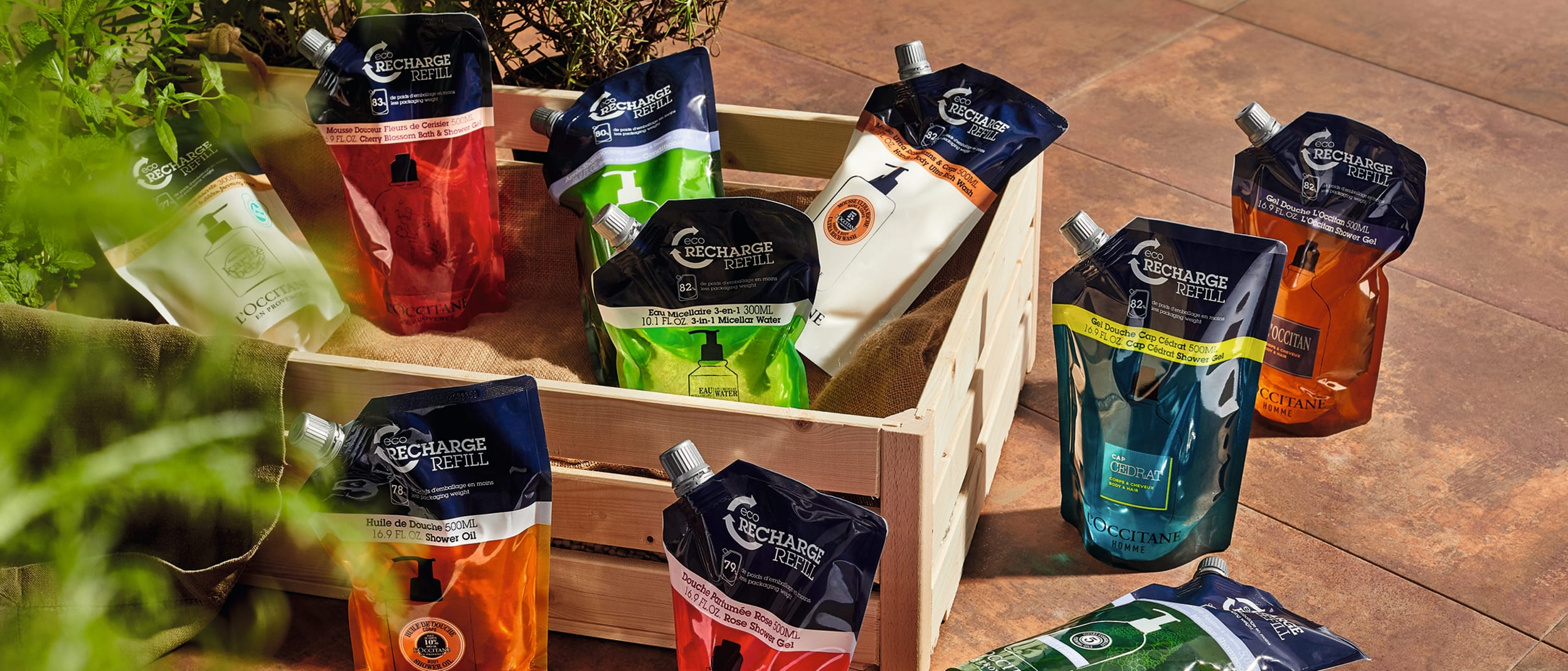 L'OCCITANE: Discover your exclusive Eco-Refill offers