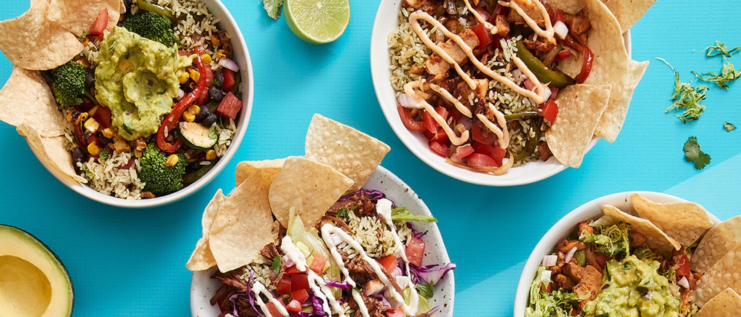 Salsas Fresh Mex $9.95 bowls