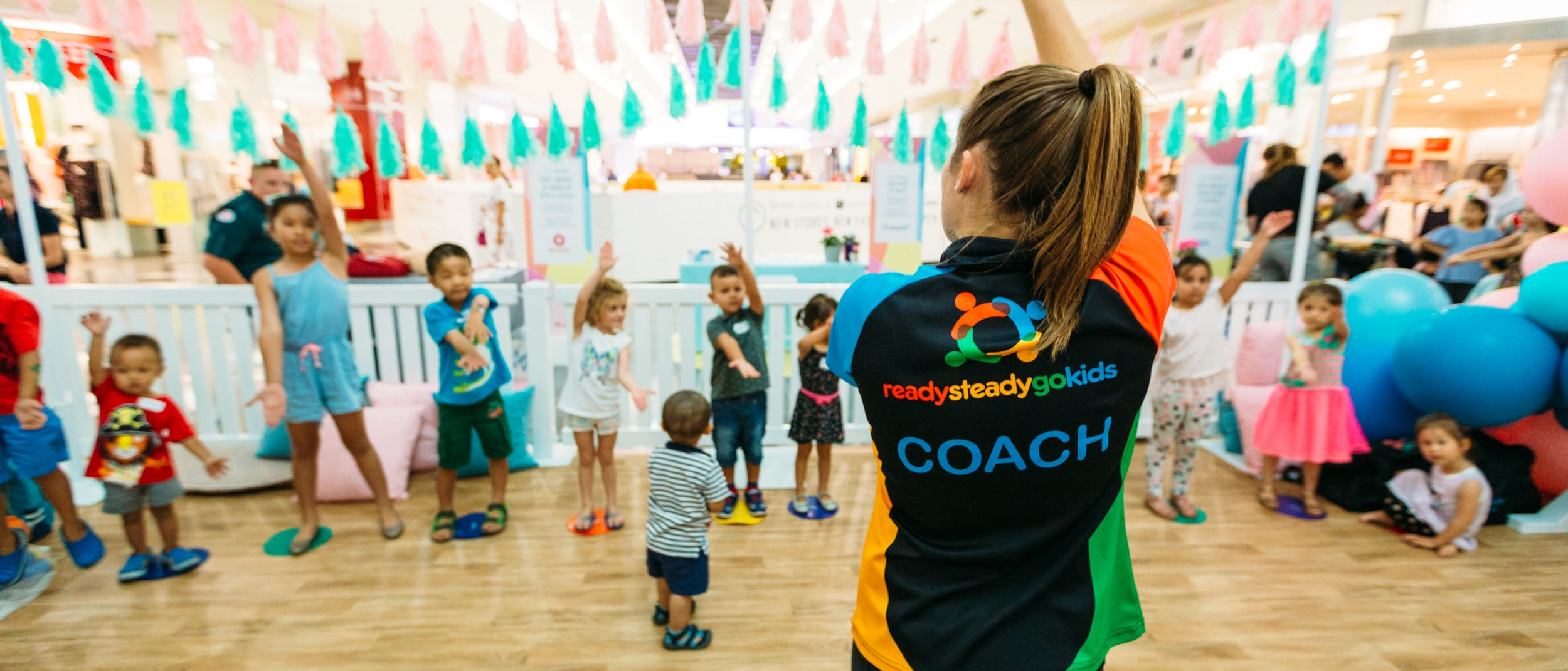 Interactive kids' multi-sport classes with Ready Steady Go Kids