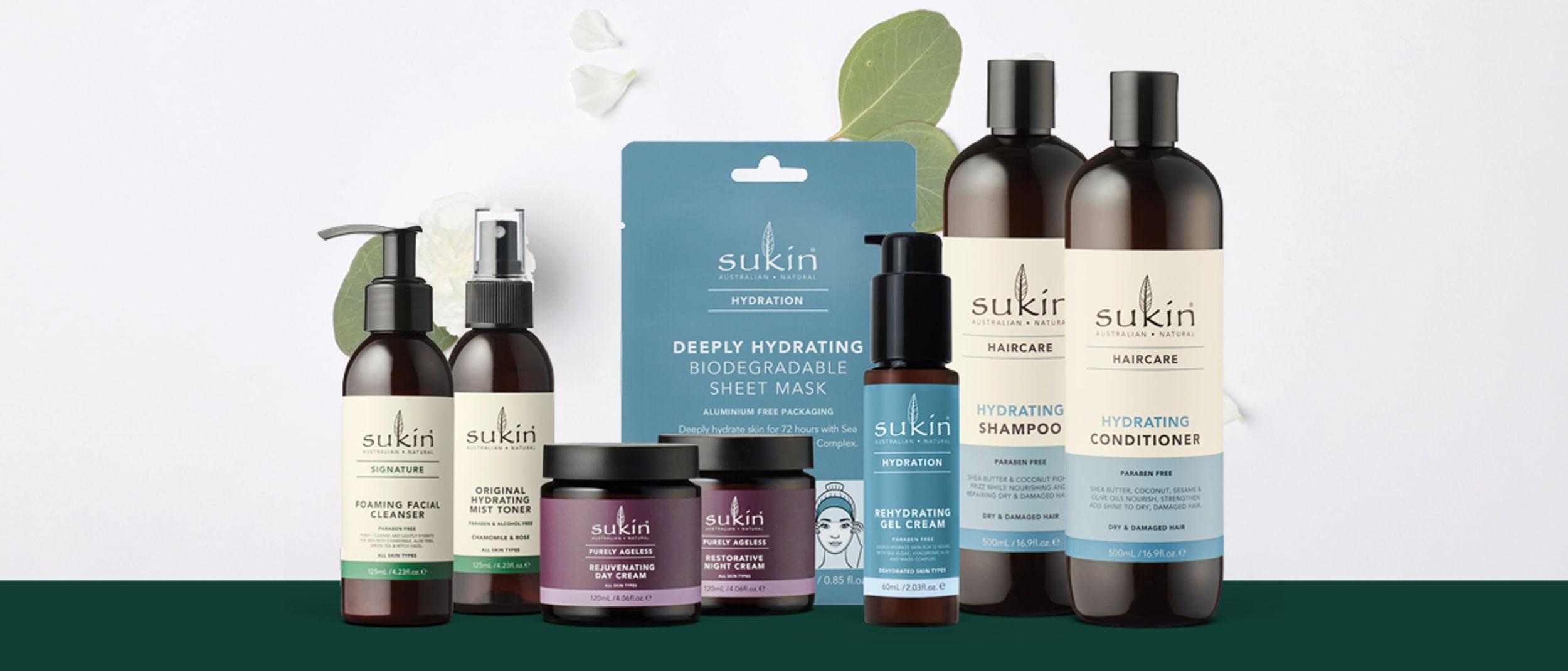 Priceline Pharmacy: Half price Sukin products