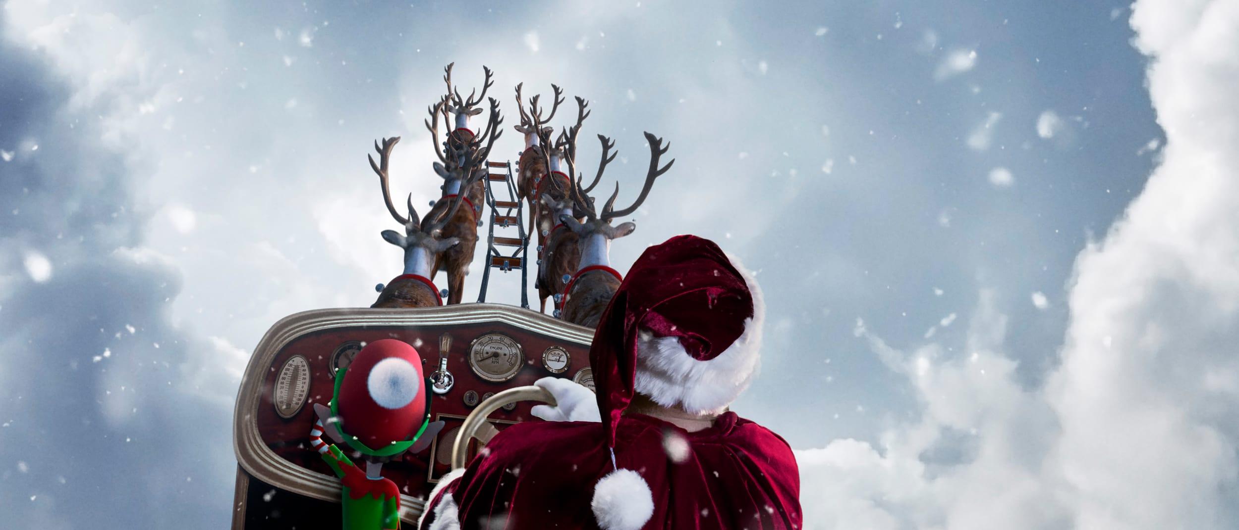 Santa's arrival show