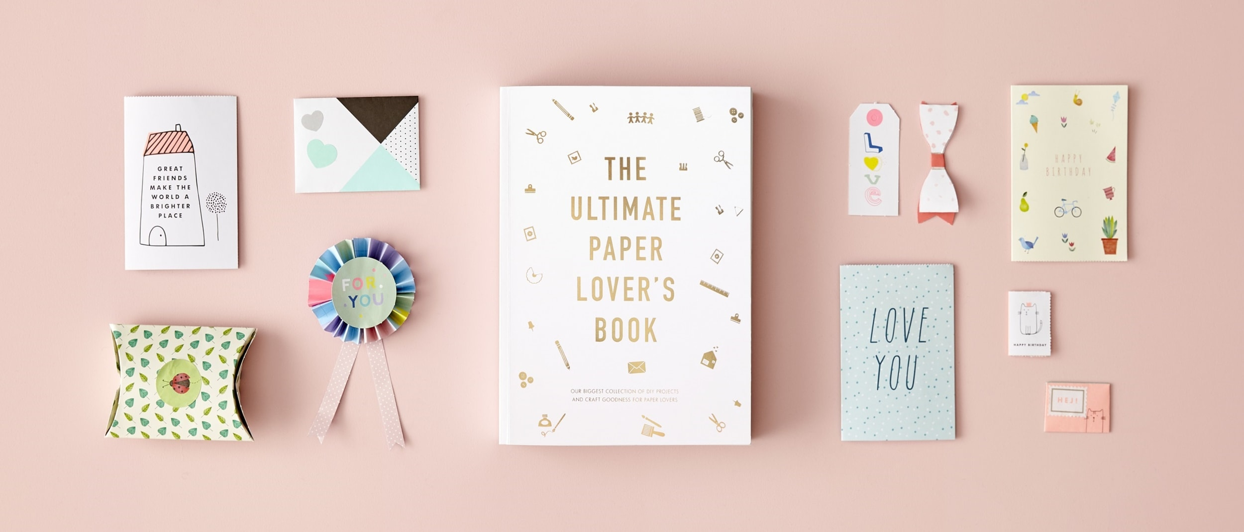 Introducing from kikki.K The Ultimate Paper Lover's Book