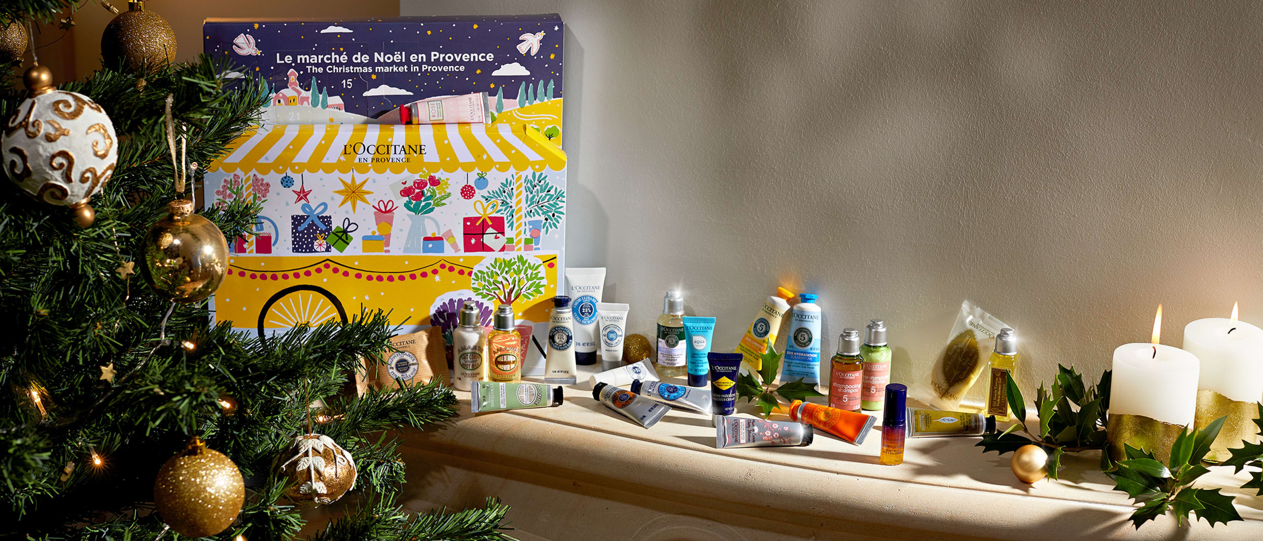Countdown to Christmas with L'OCCITANE