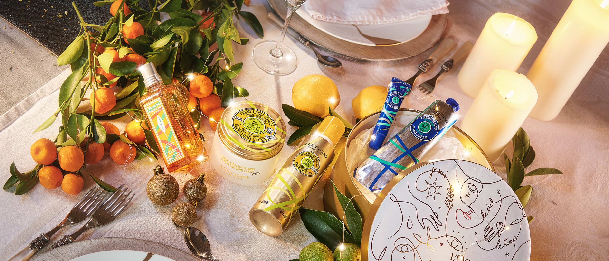 L'OCCITANE Christmas Limited Editions