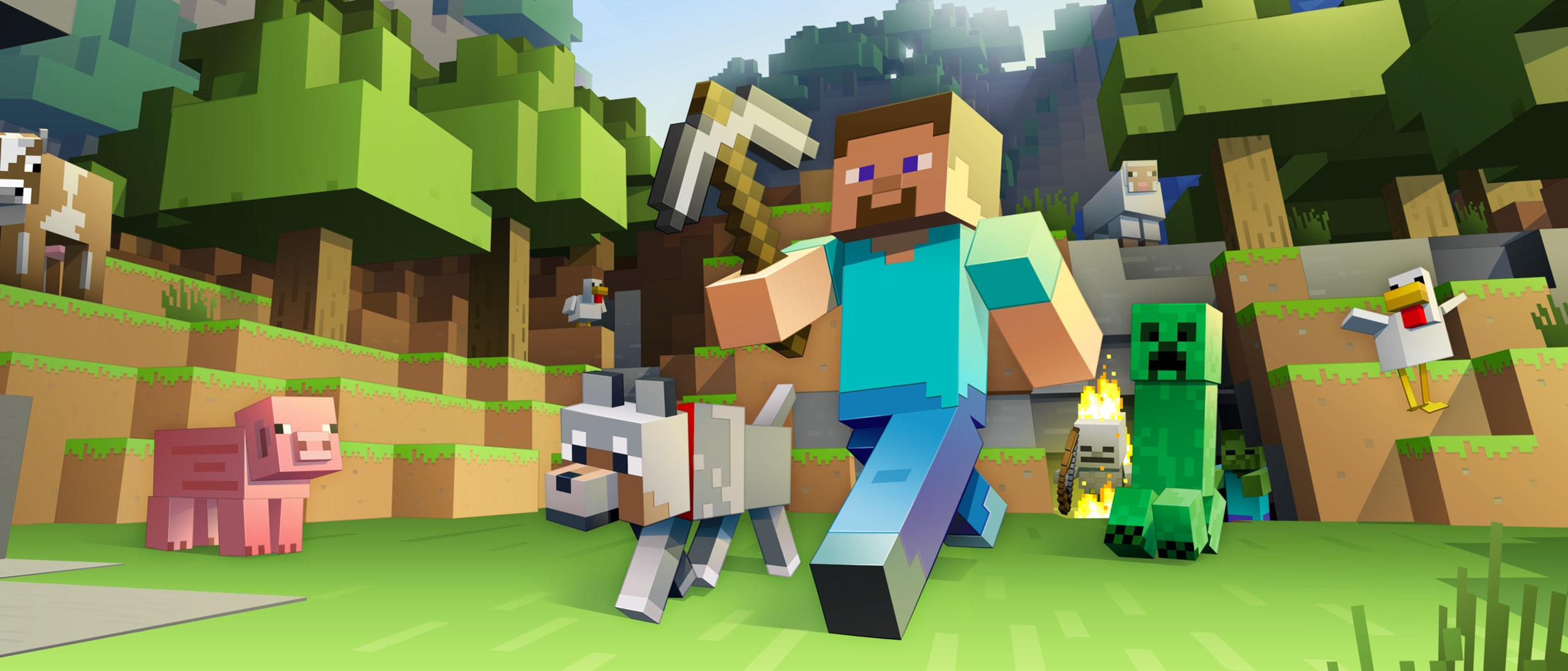 Microsoft: Minecraft workshops for school holidays