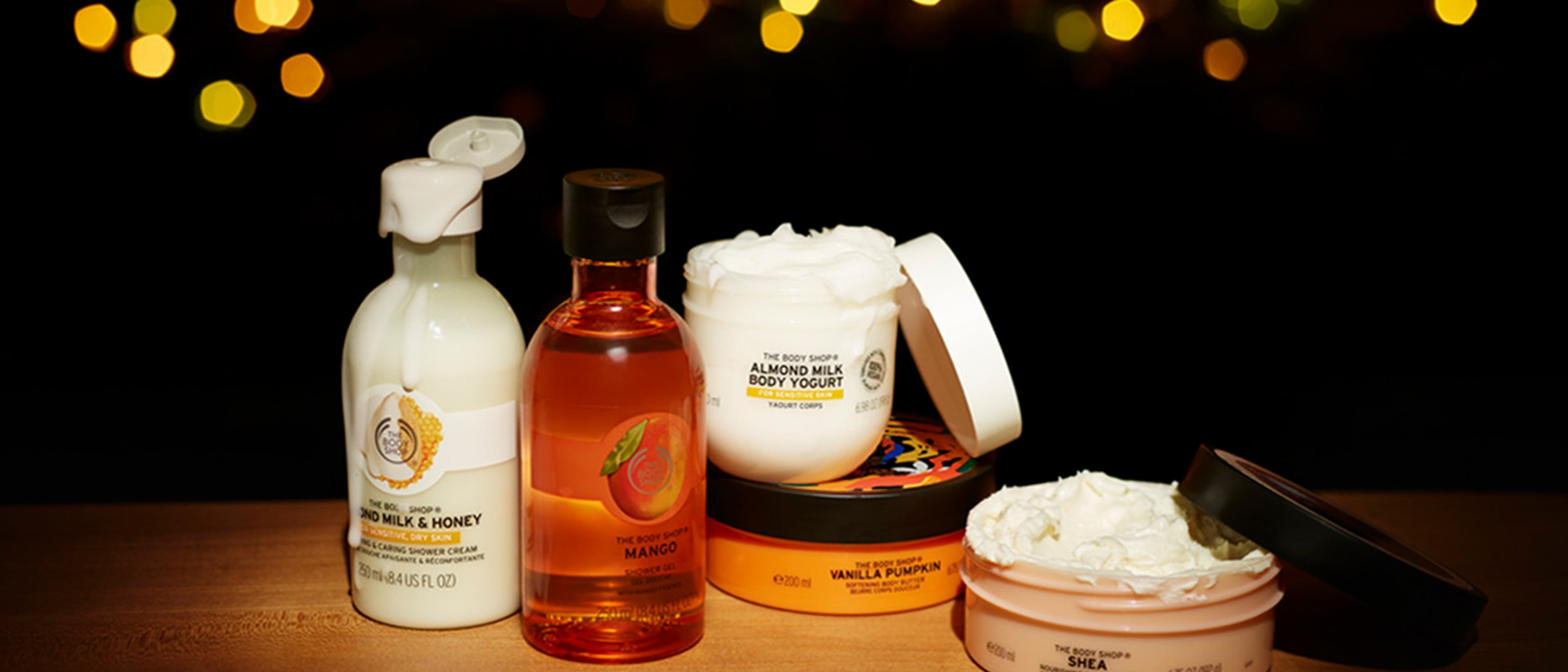 The Body Shop: Up to 60% off selected products