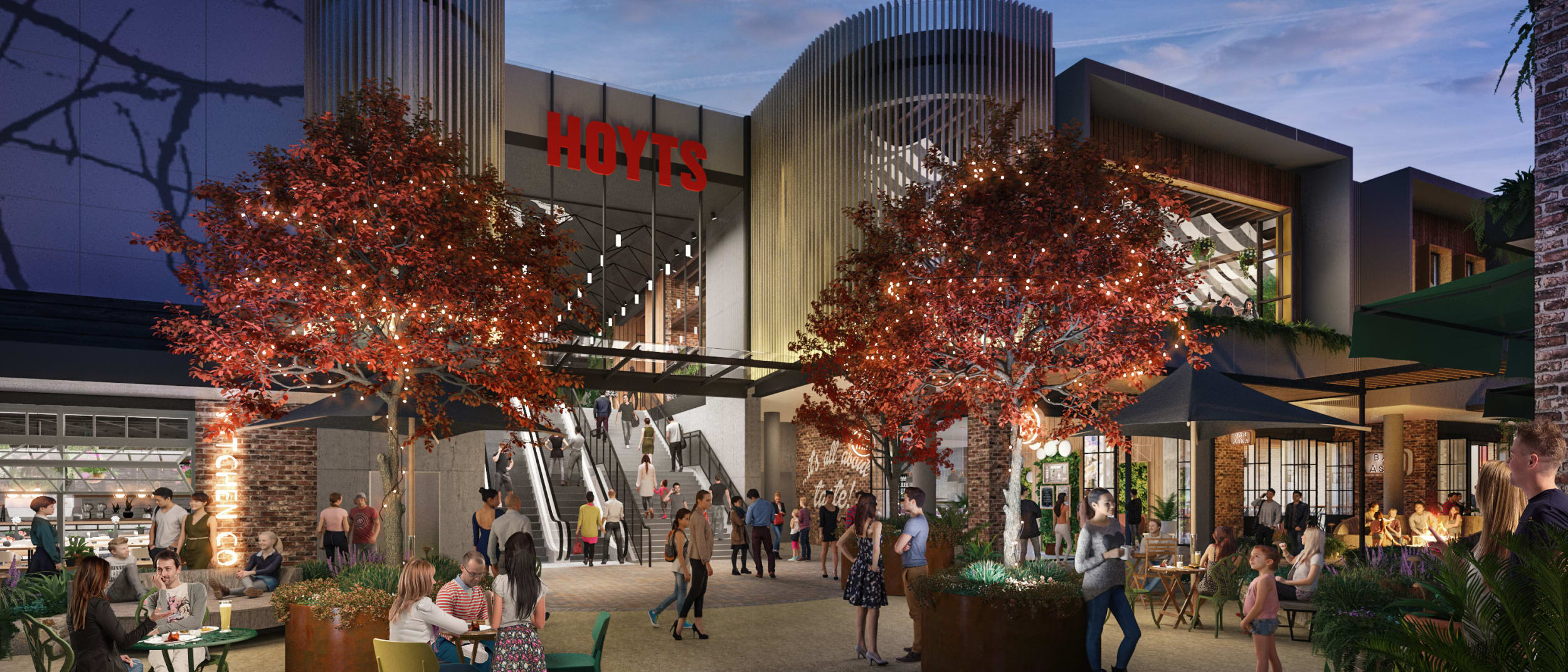 Westfield Tea Tree Plaza development fly-through