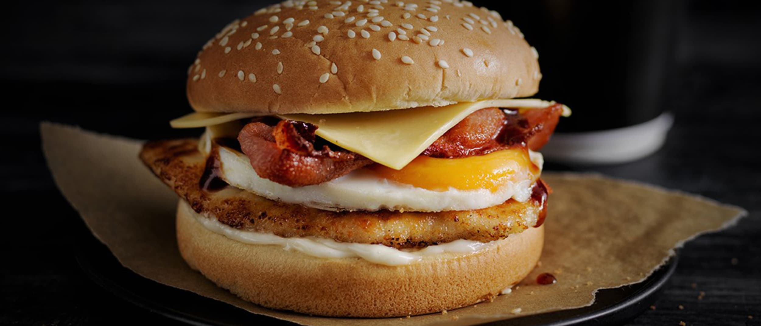 Oporto: free bacon and egg burger with breakfast meal deal
