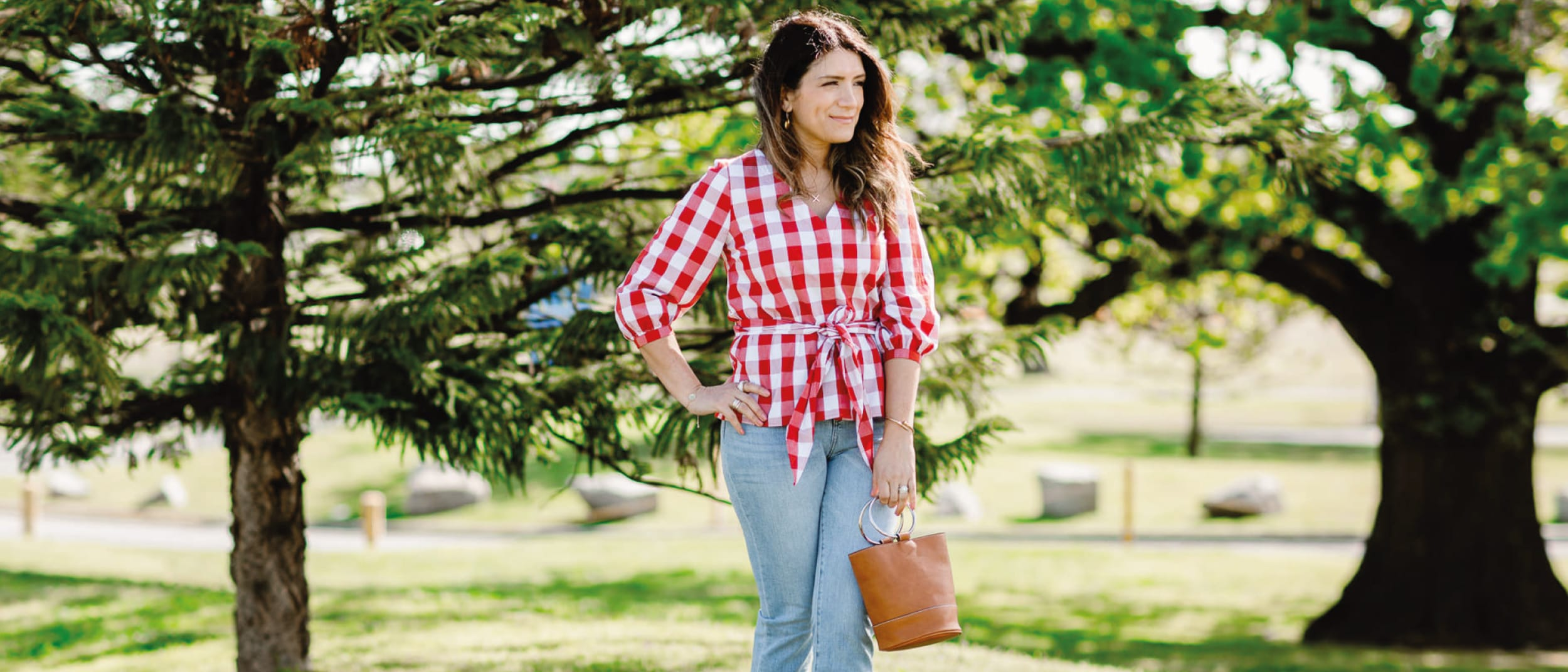 This season's prints from polka dots to stripes
