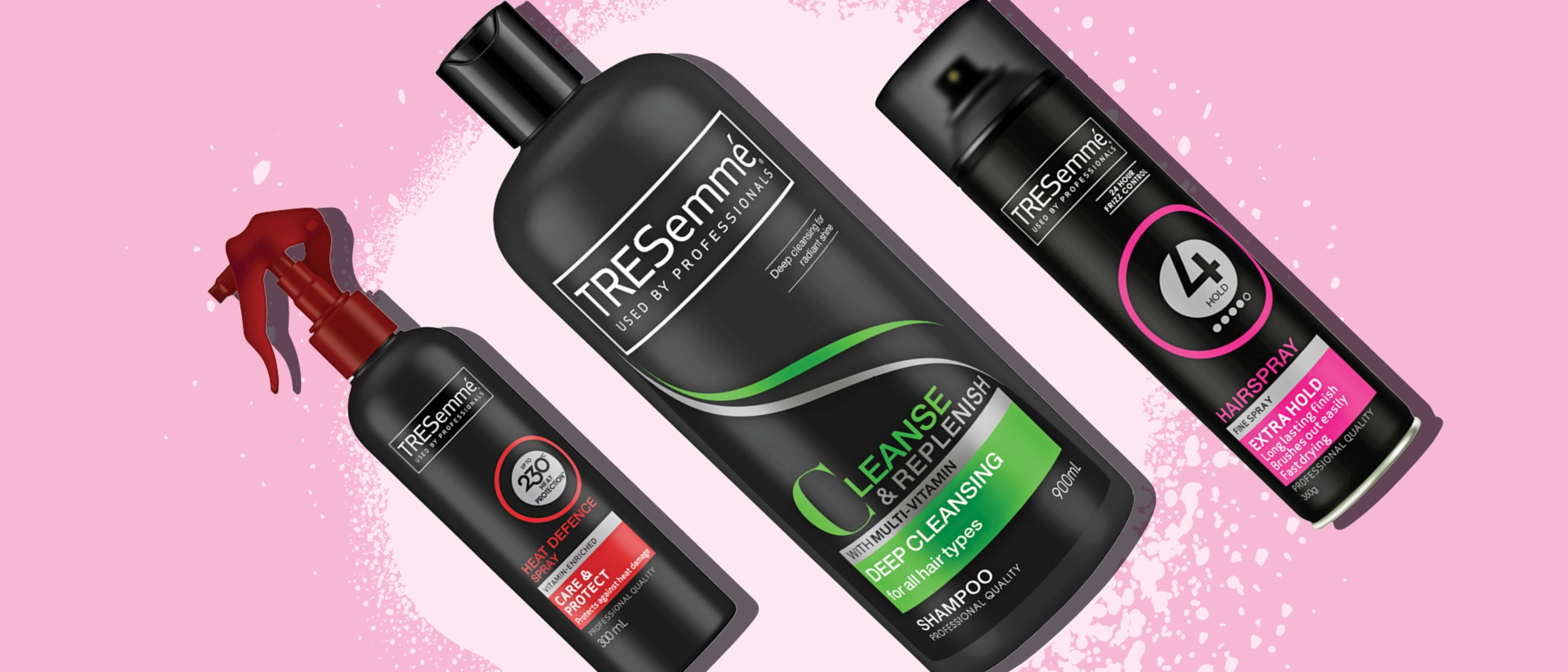 ½ Price on the Tresemme Haircare and Styling ranges