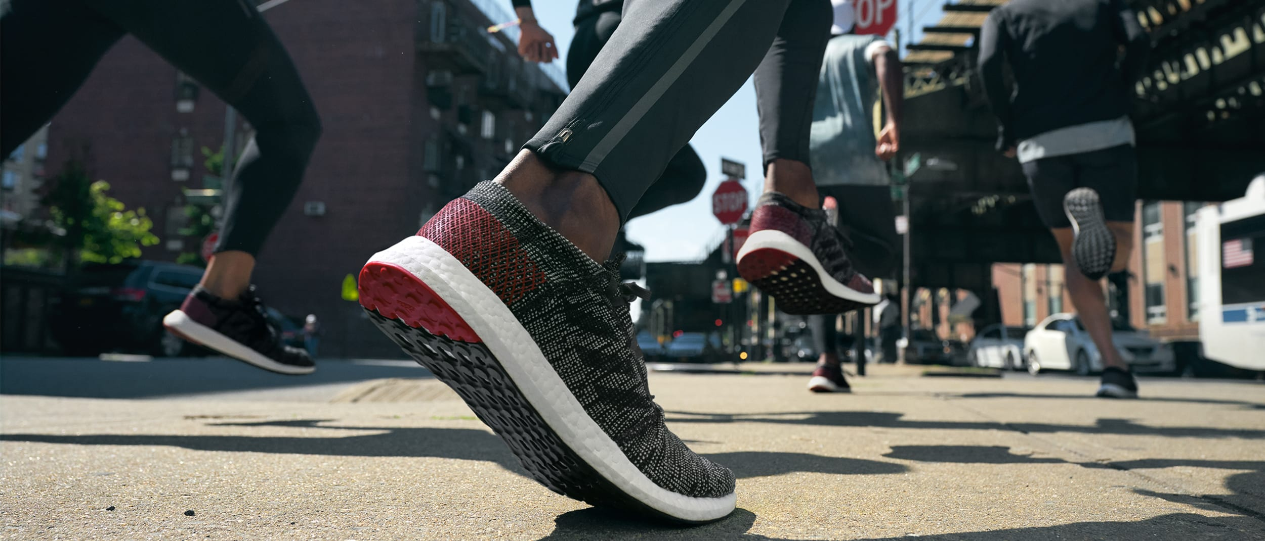 No matter how you move, the #PureBOOST GO moves with you