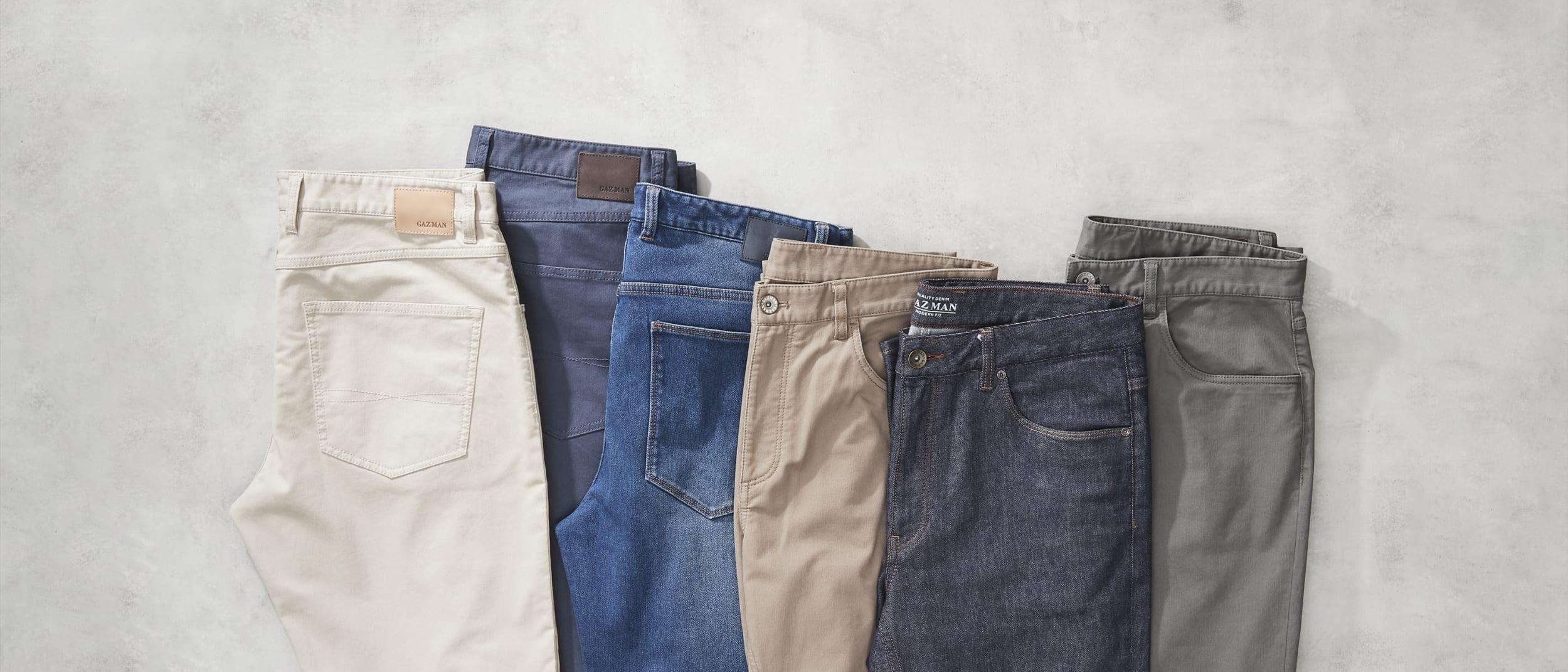 GAZMAN: Winter Sale - $69 Denim and $59 Bedford Cord pants