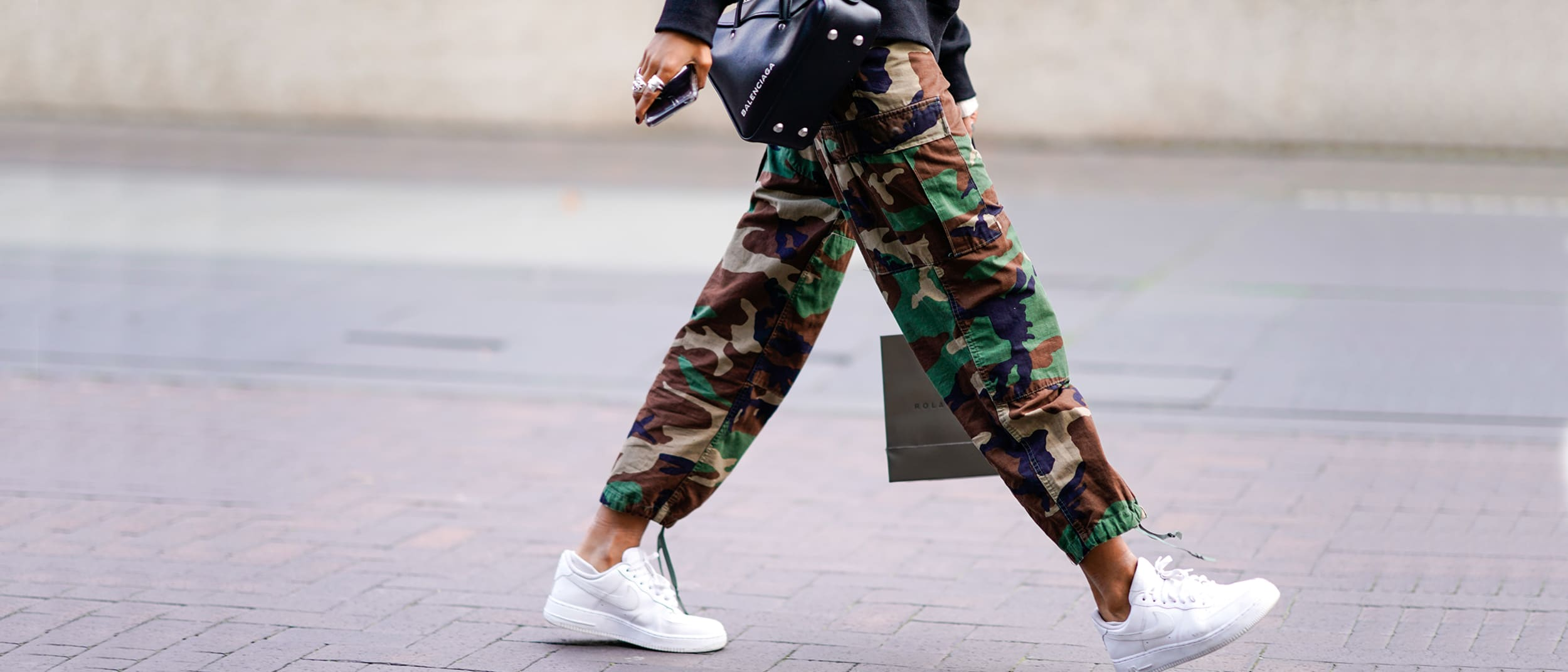 Military mob: army inspired sportswear