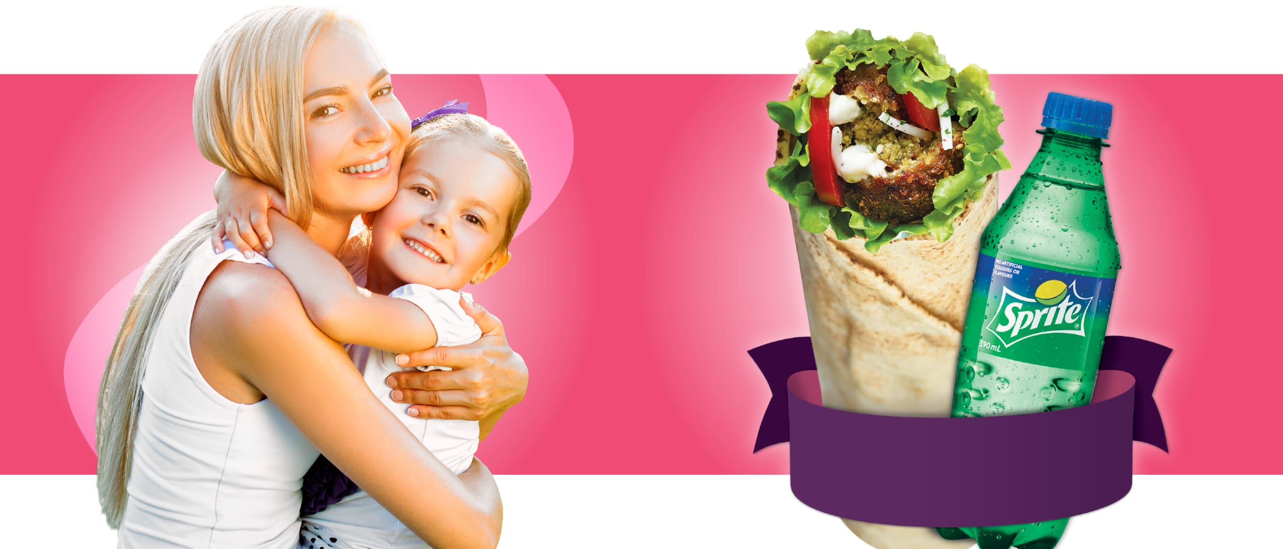 Ali Baba: I love falafel, support a great cause