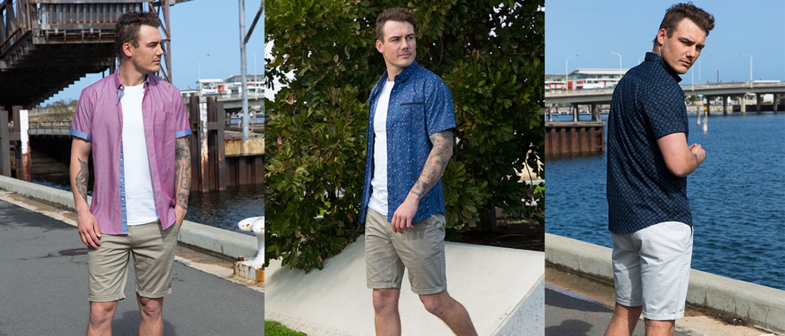 Ed Harry: all short sleeve shirts and walkshorts 2 for $70