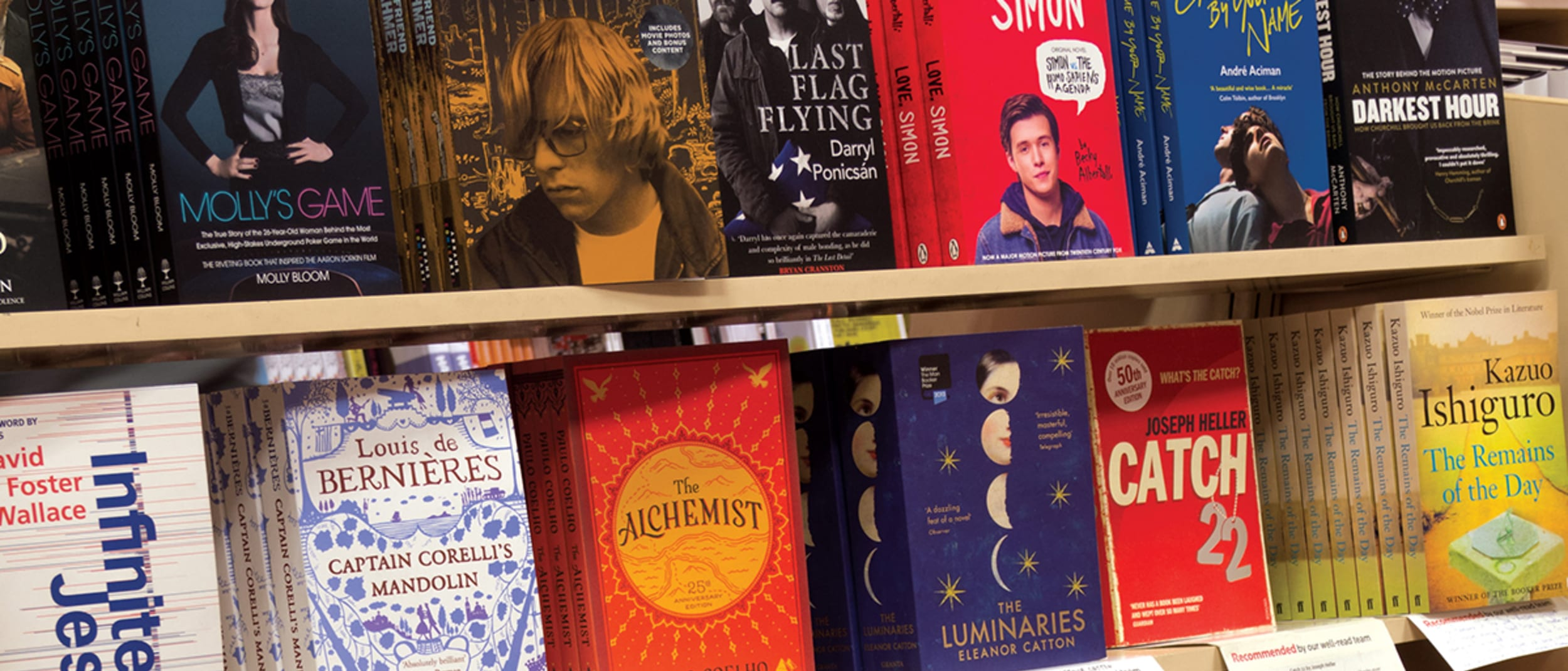 Dymocks: 3 for the price of 2 on selected Australian titles