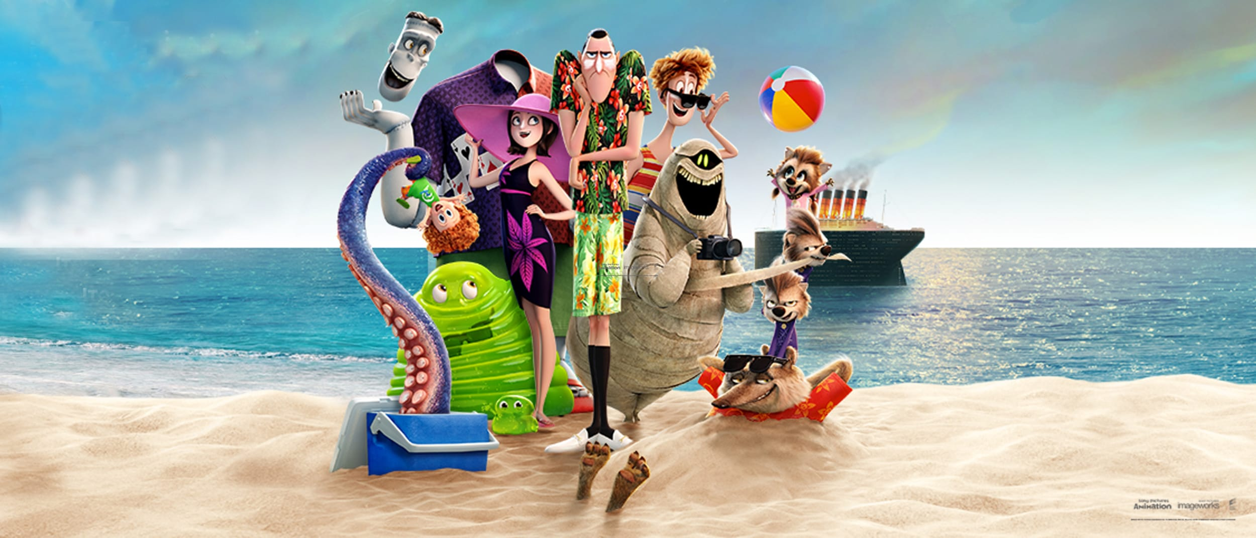 Hotel Transylvania 3: A Monster Vacation Kids Craft Mondays