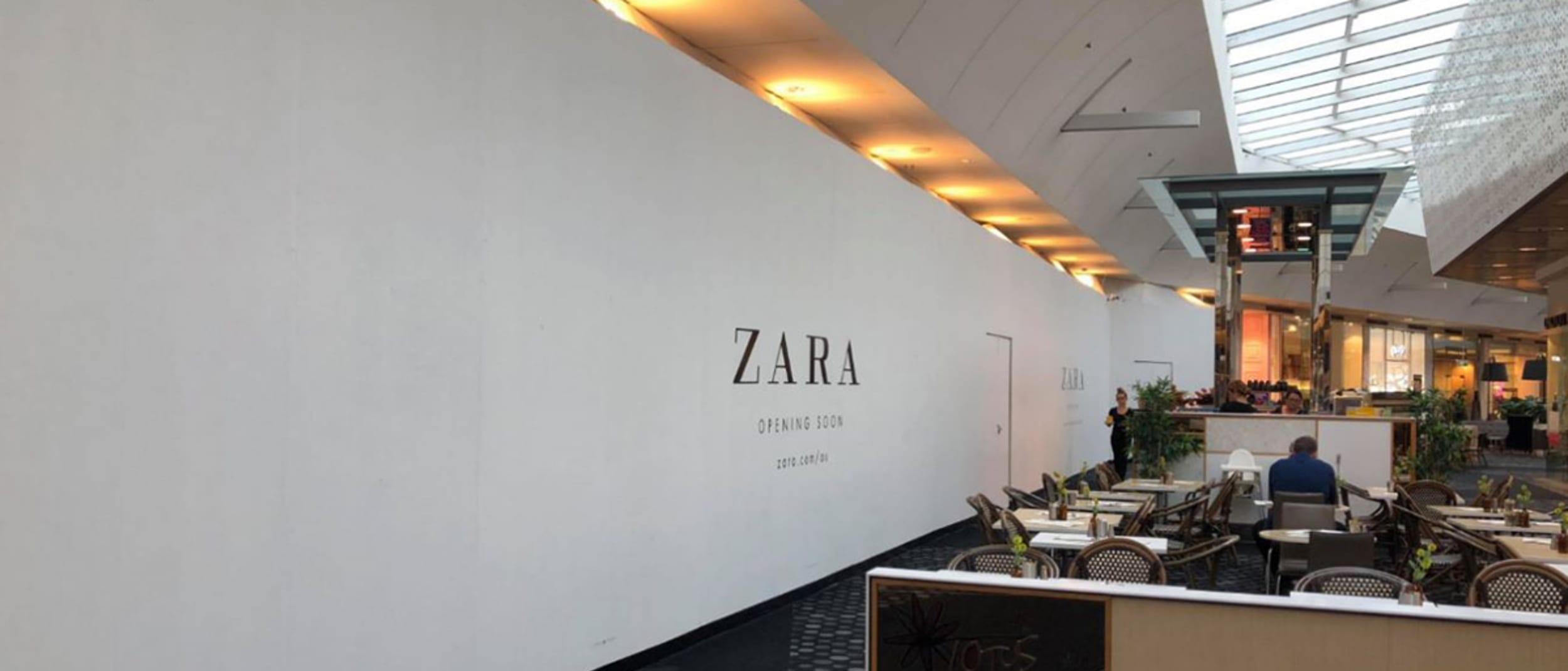 Zara opening soon