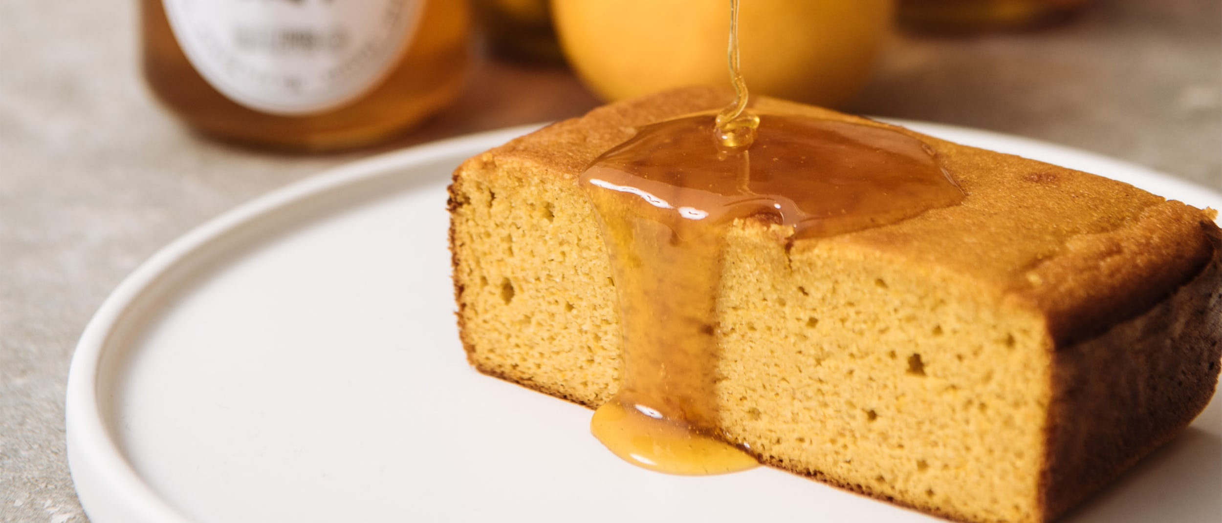 Arum Nixon's Honey and Mandarin Cake with Caramel Sauce
