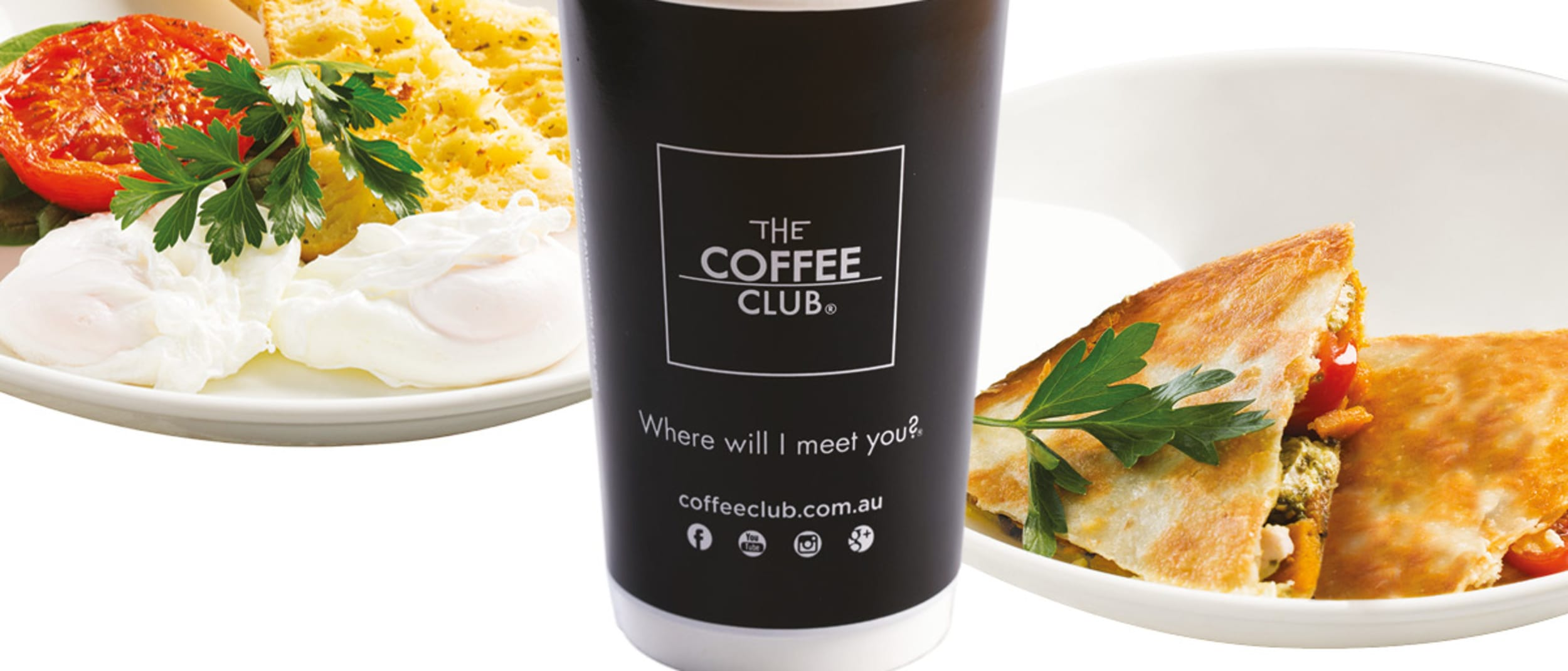 The Coffee Club has something special for you - It's no typo!