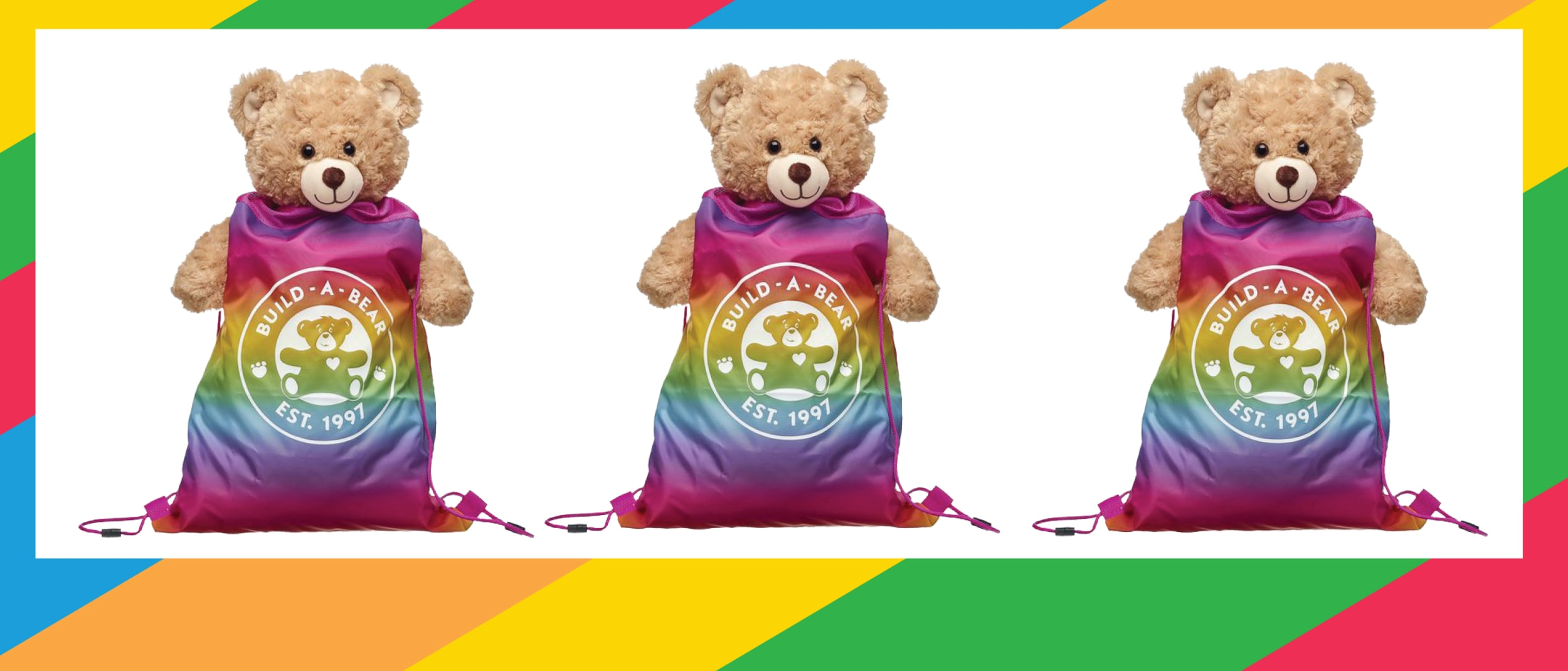 Build-A-Bear-Workshop: $7 drawstring bag with $60 purchases