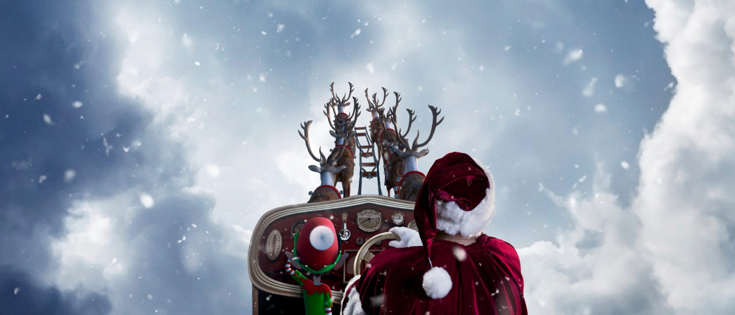 Santa's arrival