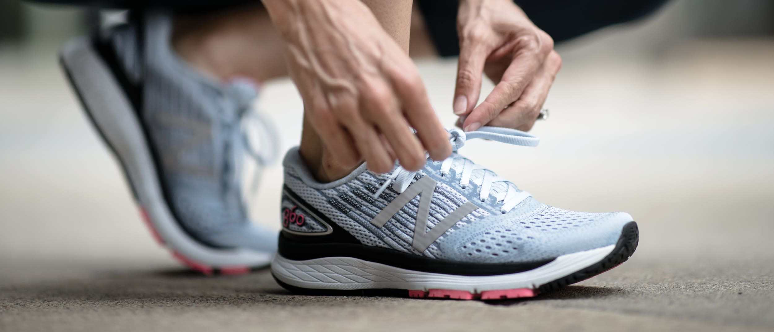 Australian first - New Balance 860v9 at The Athlete's Foot