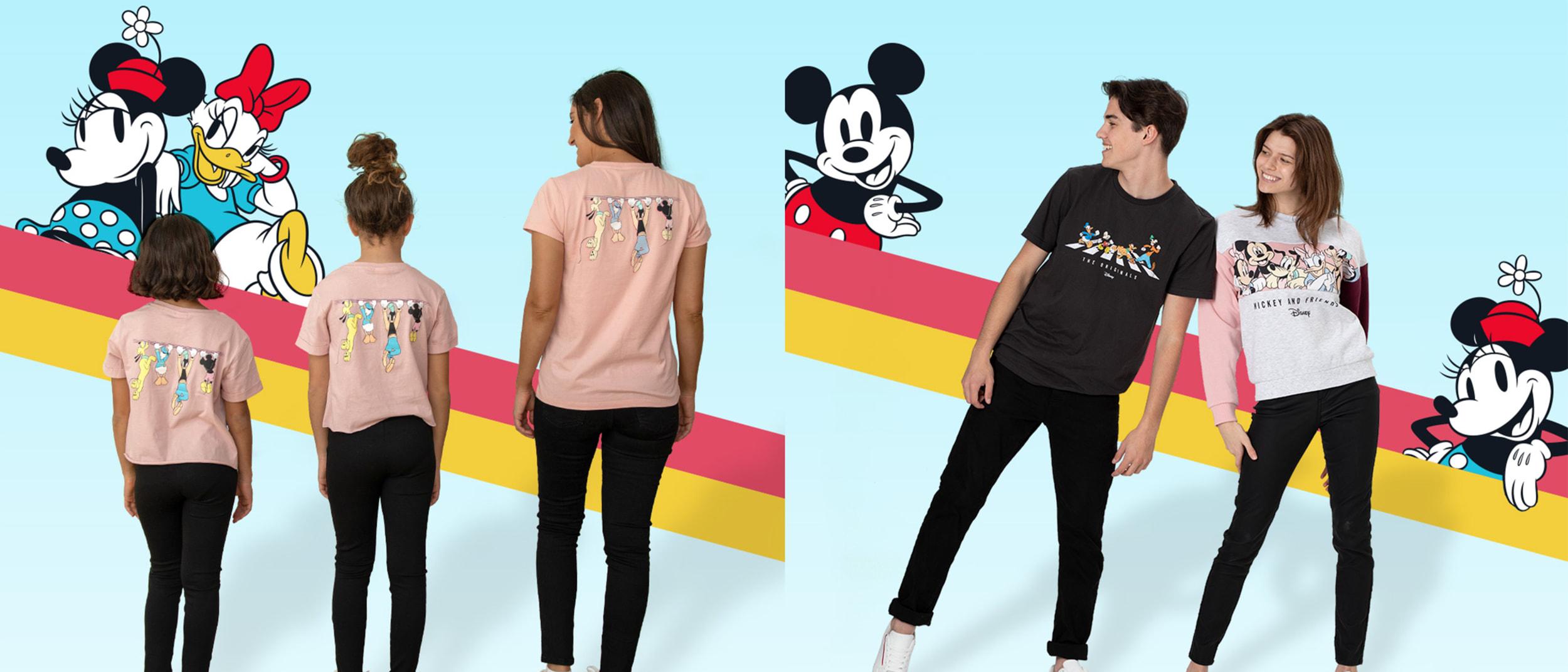 BIG W celebrates #BigFriendships with new Disney apparel