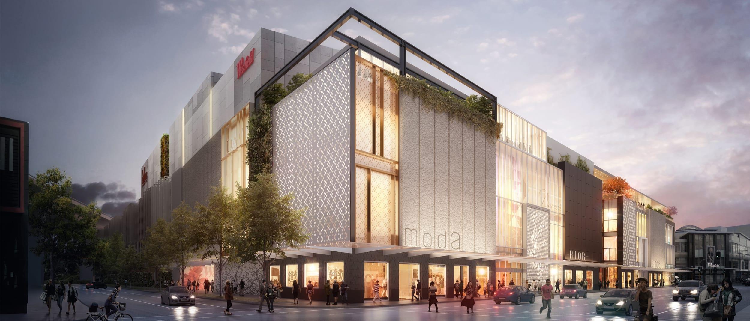 Designing Westfield Newmarket