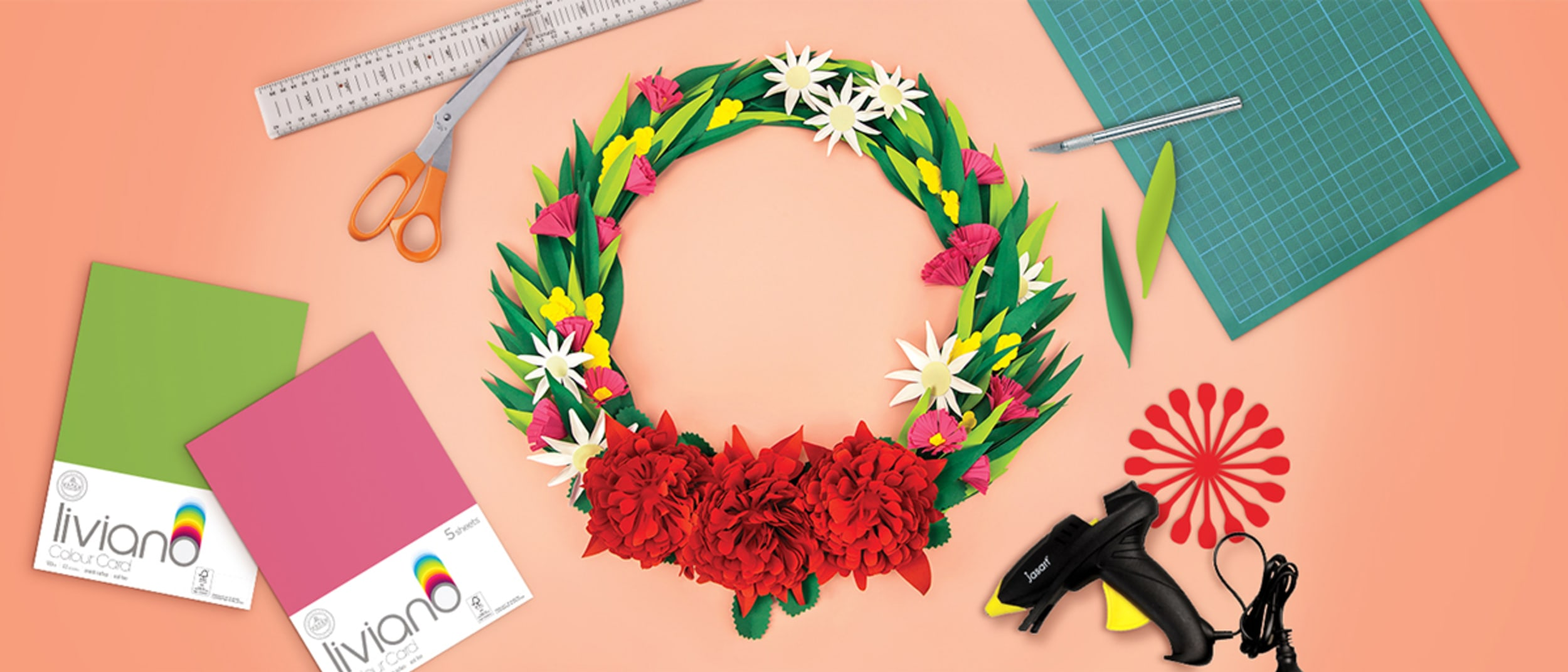 Eckersley's Art & Craft: Make christmas colourful!