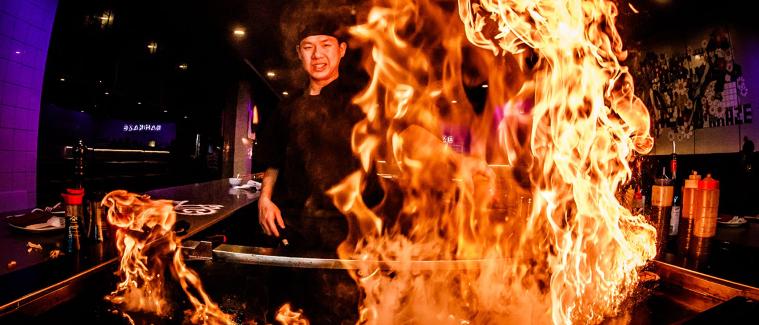 5 minutes with the head chef of Kamikaze Teppanyaki