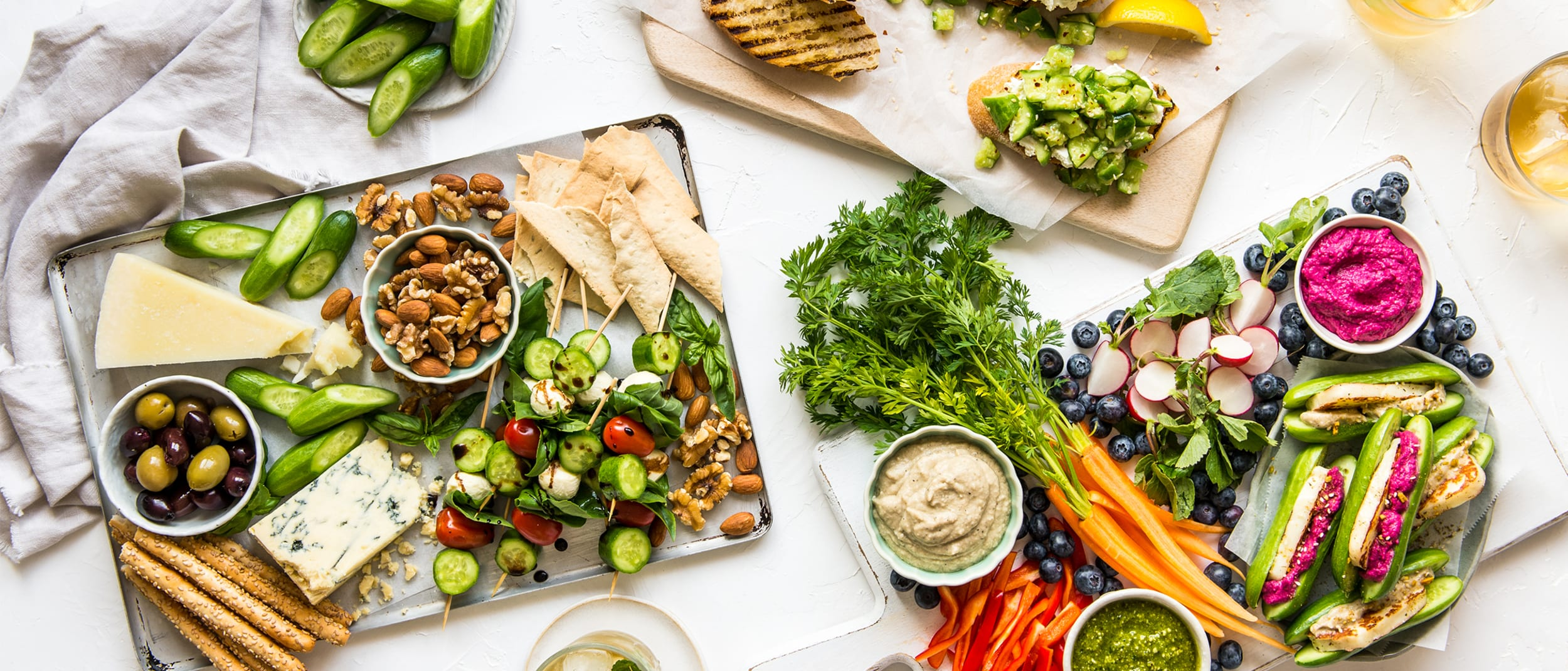Tips for the ultimate delicious and healthy platters