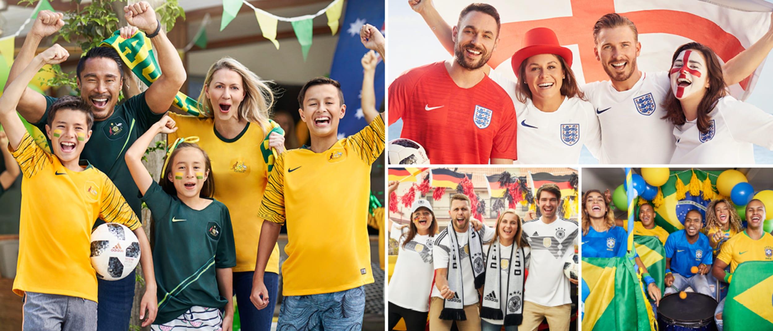 Official Soccer World Cup Fan Gear