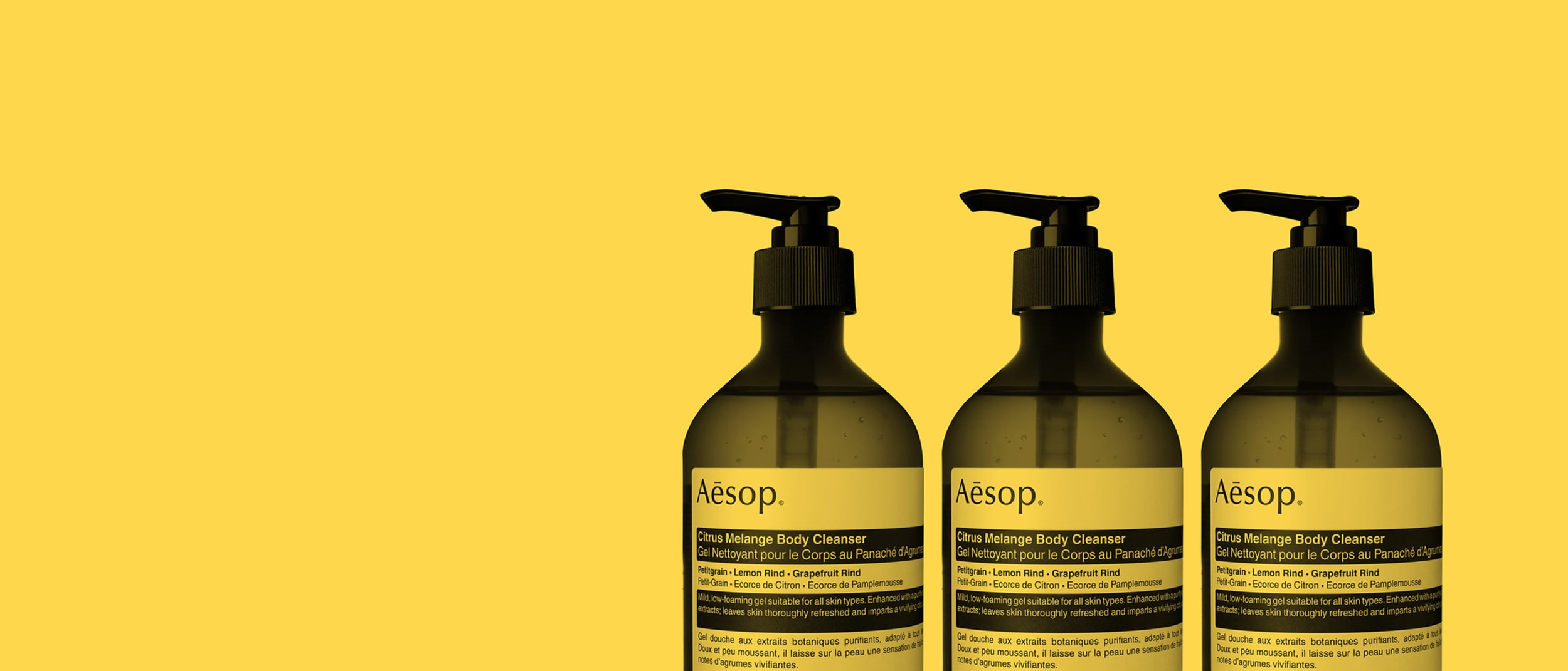 Introducing Aesop's new zesty Citrus Melange Body Cleanser